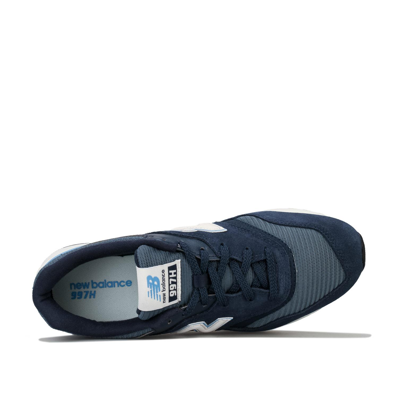 Homme-New-Balance-997-H-Running-Baskets-En-Bleu-Marine-et-Gris miniature 12