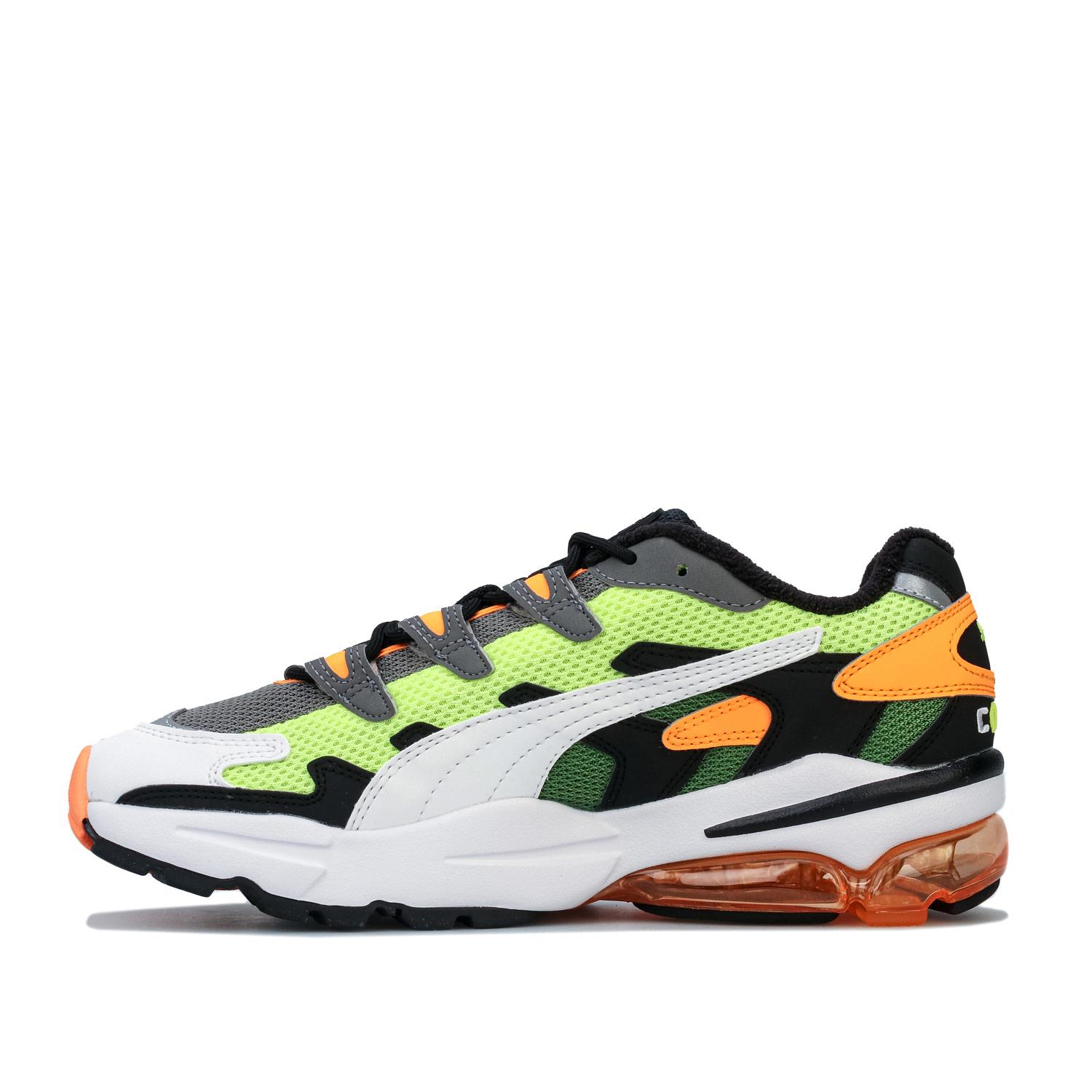 Mens-Puma-Cell-Alien-OG-Trainers-in-Blue-Green-Black-Red-Blue-and-Yellow thumbnail 25