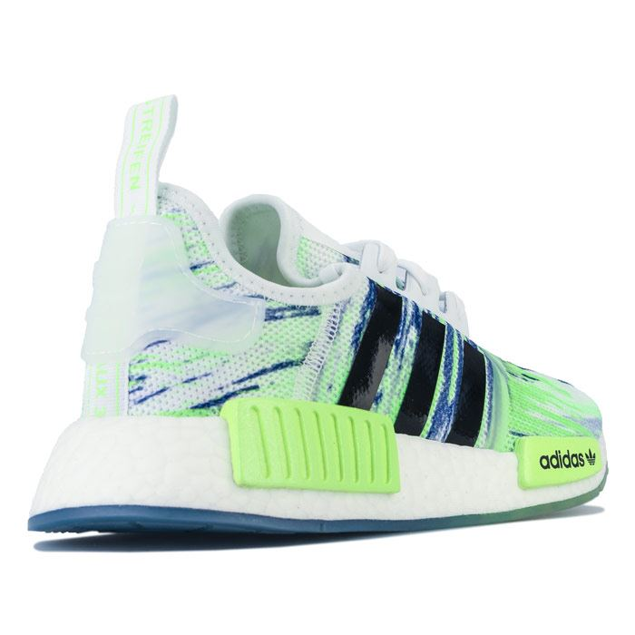 Boy's adidas Originals Junior NMD R1 Trainers in Green | eBay