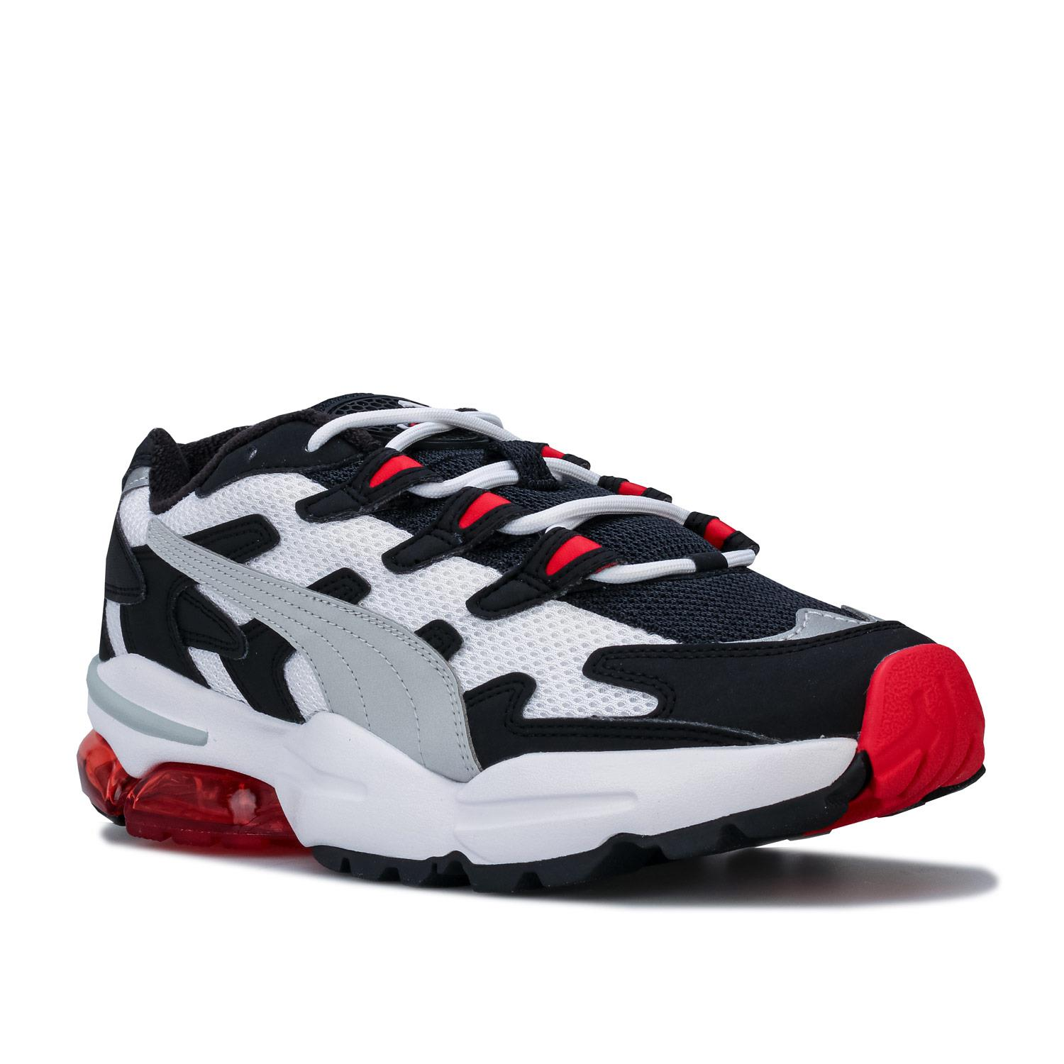 Mens-Puma-Cell-Alien-OG-Trainers-in-Blue-Green-Black-Red-Blue-and-Yellow thumbnail 3