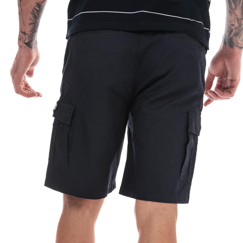 Homme-Weekend-Offender-High-Desert-Coton-Shorts-en-pierre-et-bleu-marine miniature 3