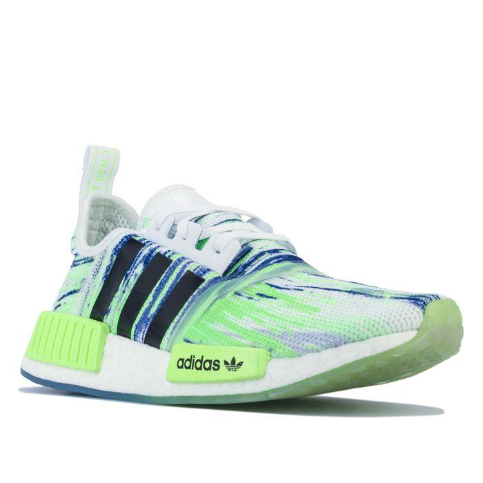 Boy's adidas Originals Junior NMD R1 Trainers in Green   eBay