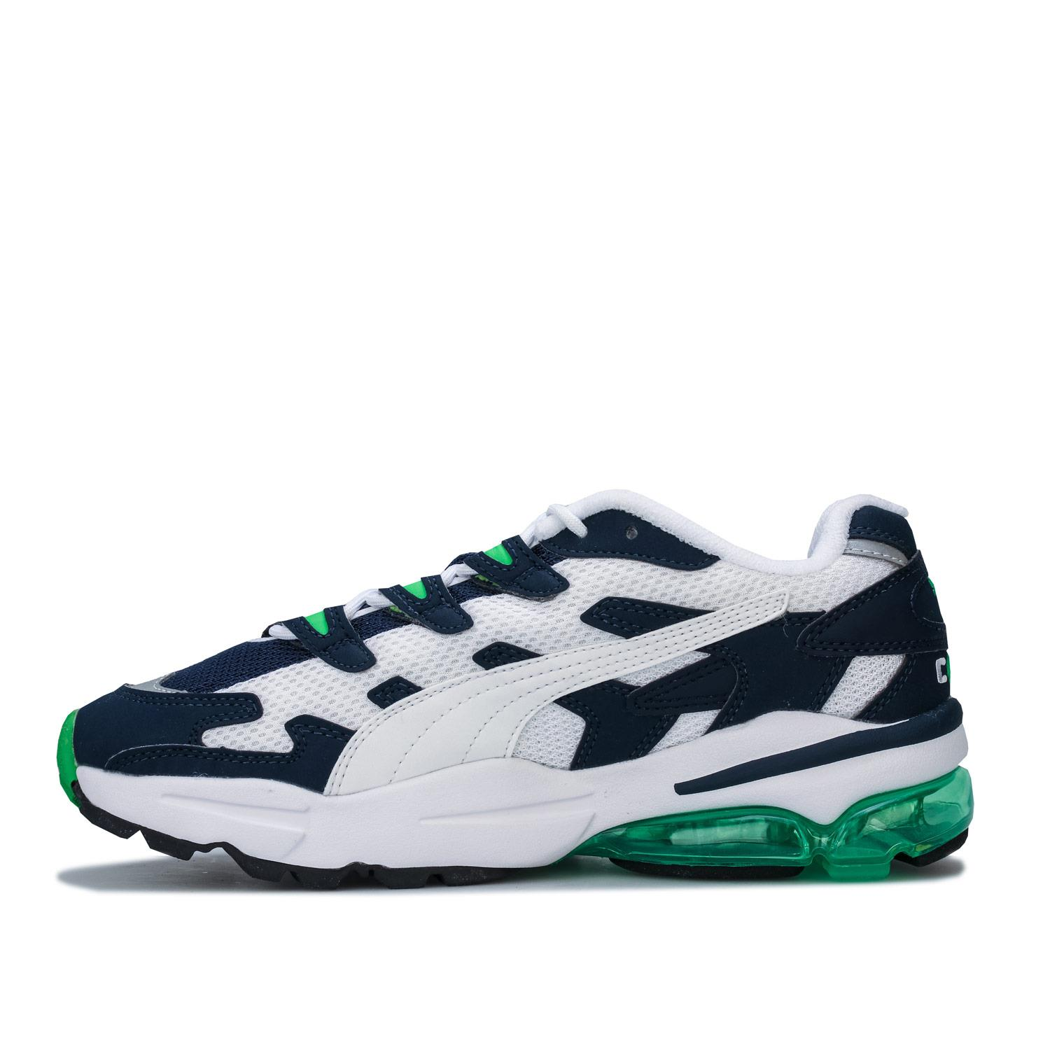 Mens-Puma-Cell-Alien-OG-Trainers-in-Blue-Green-Black-Red-Blue-and-Yellow thumbnail 19