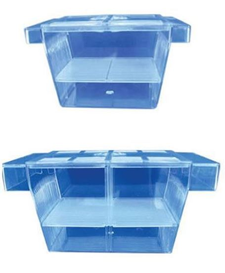 Hidom aquarium fish breeding box live bearer fry tank for Fish breeding tank