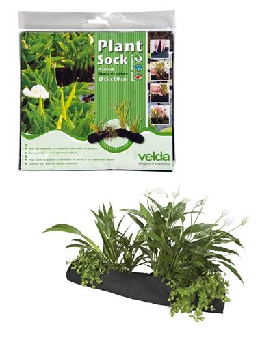 Velda plant sock fish pond planting basket water garden for Small garden pond care