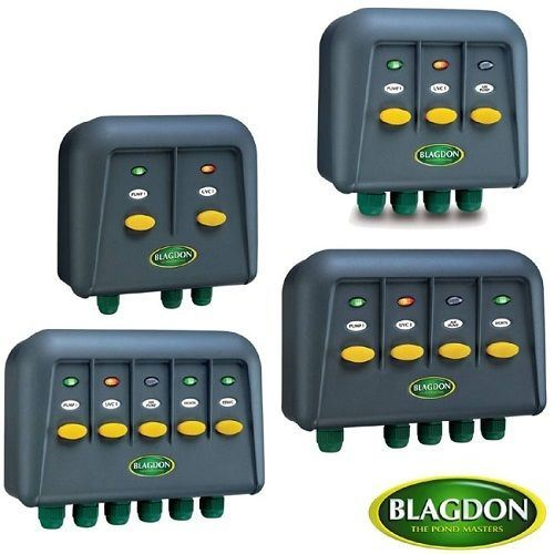 4 4 Weatherproof Electrical Box: Blagdon Powersafe Weatherproof Electric Switch Box Garden