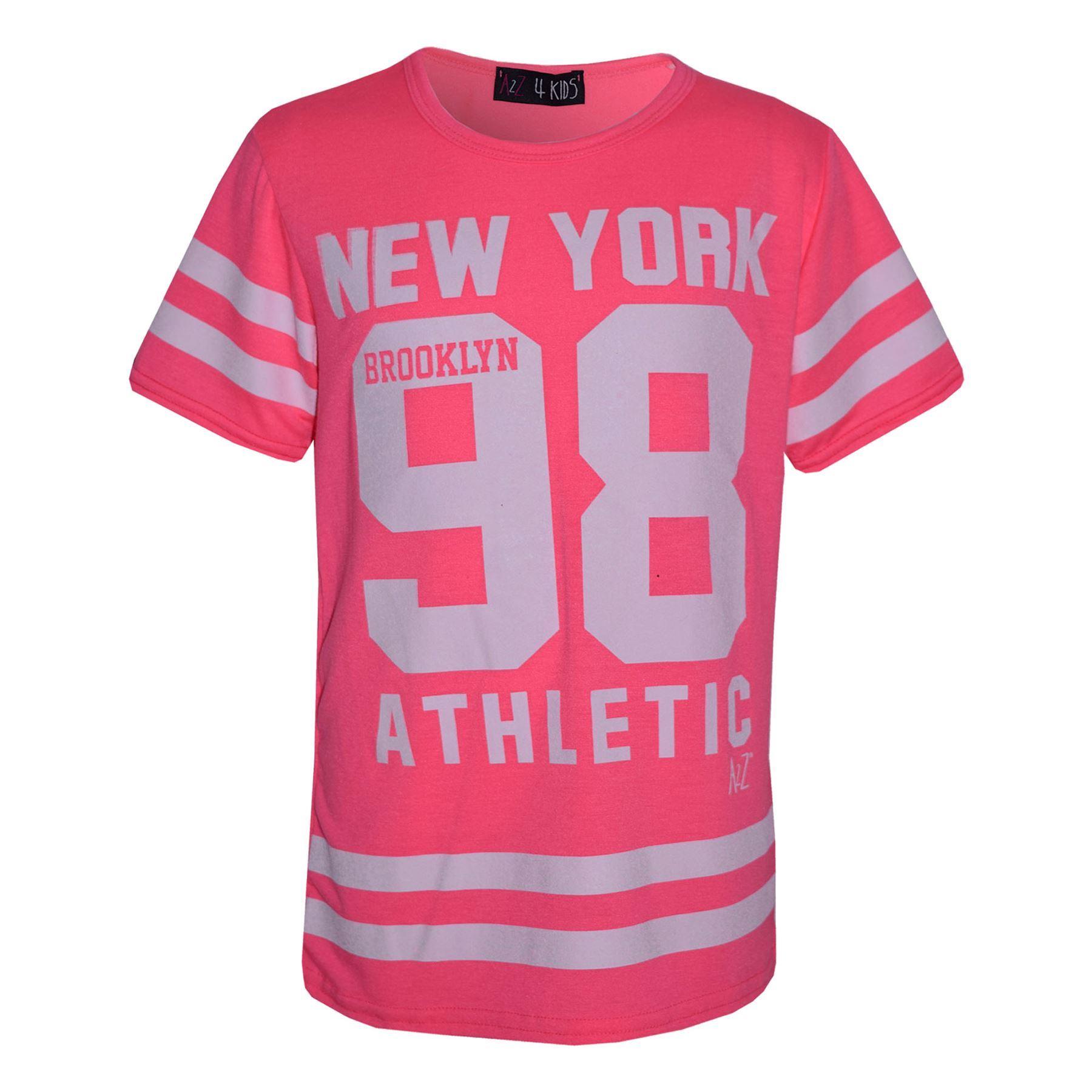 Girls-NEW-YORK-BROOKLYN-98-ATHLECTIC-Camouflage-Print-Top-amp-Legging-Set-7-13-Yr thumbnail 59