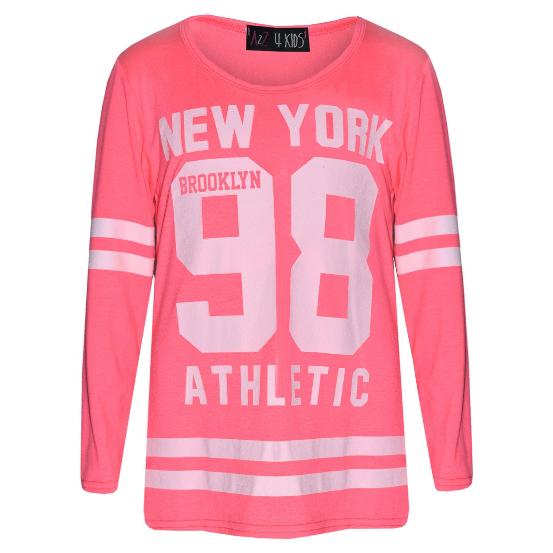 Girls-NEW-YORK-BROOKLYN-98-ATHLECTIC-Camouflage-Print-Top-amp-Legging-Set-7-13-Yr thumbnail 65