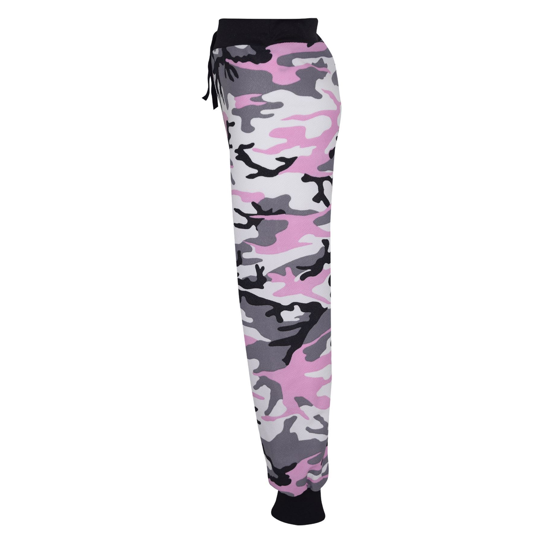 Kids-Girls-Camouflage-Print-Crop-Top-Legging-Jacket-Tracksuit-Age-7-13-Years miniatuur 17