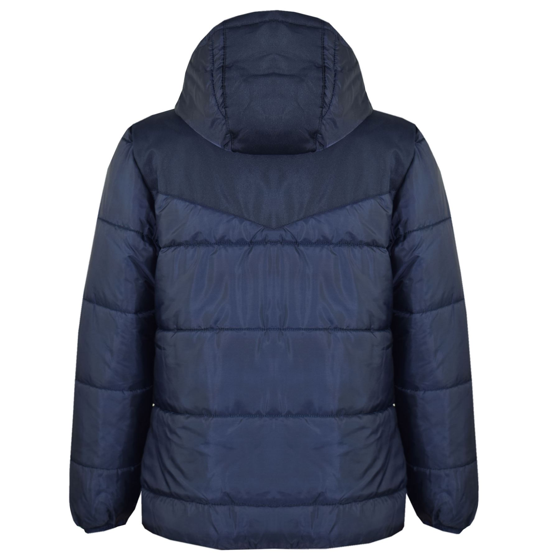 d747d1e5e Details about Kids Jacket Girls Boys Padded Puffer Bubble Zipped Hooded  Warm Thick Coats 3-13Y