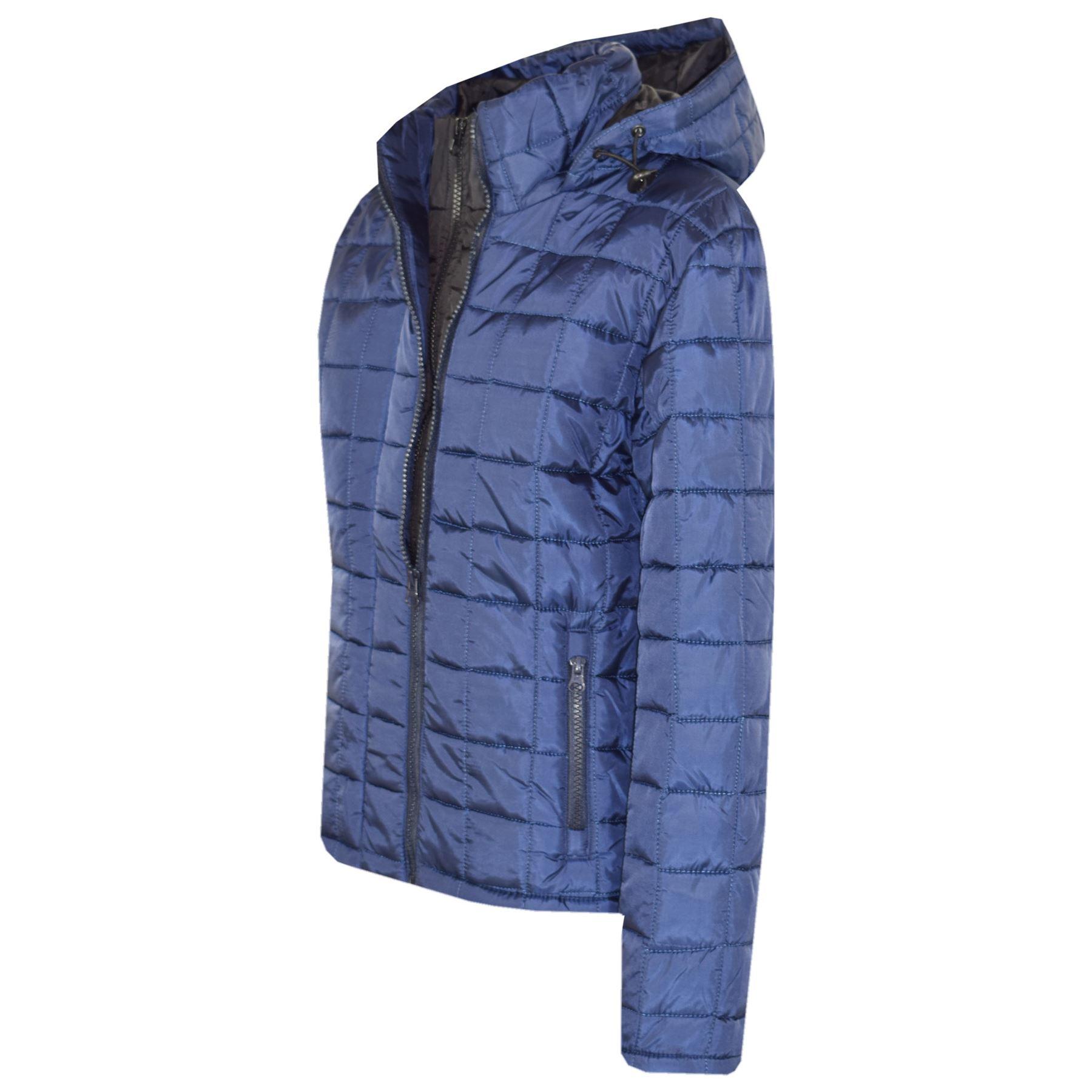 Boys Jacket Kids Designer Navy Foam Padded Puffa School Warm Thick Jackets Coats