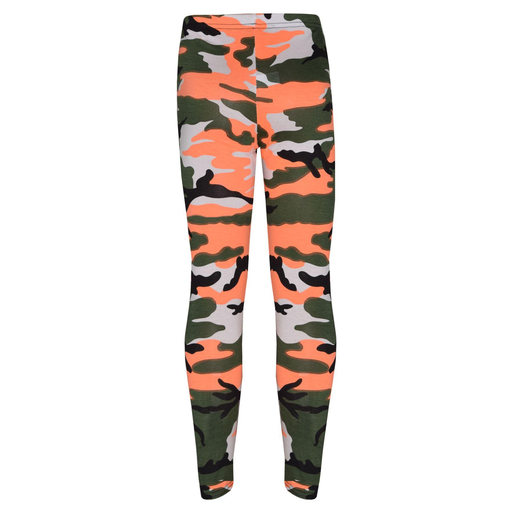 Girls-NEW-YORK-BROOKLYN-98-ATHLECTIC-Camouflage-Print-Top-amp-Legging-Set-7-13-Yr thumbnail 43