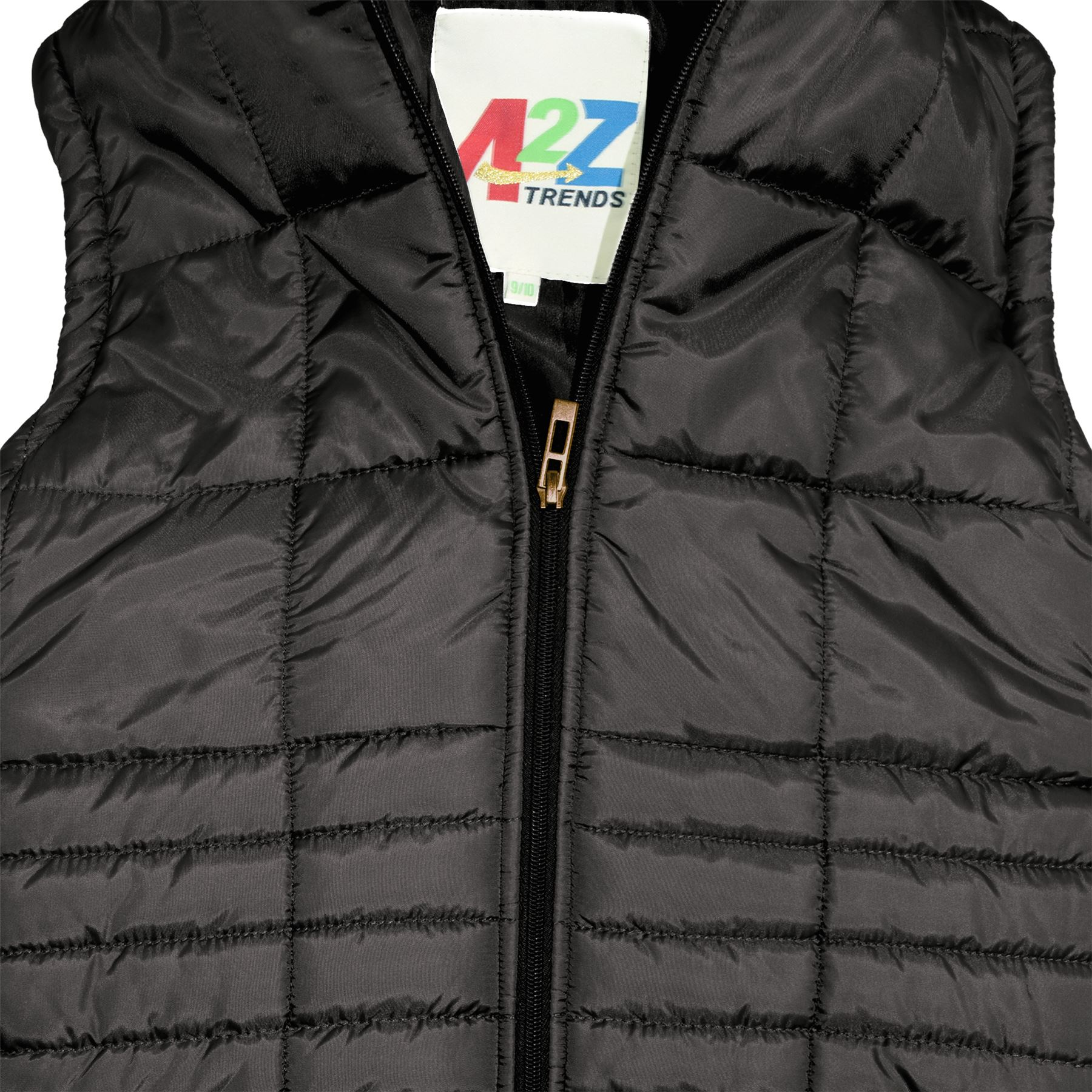 Kids Girls Boys Wine Sleeveless High Neck Padded Gilet Bodywarmer Jackets 5-13Yr
