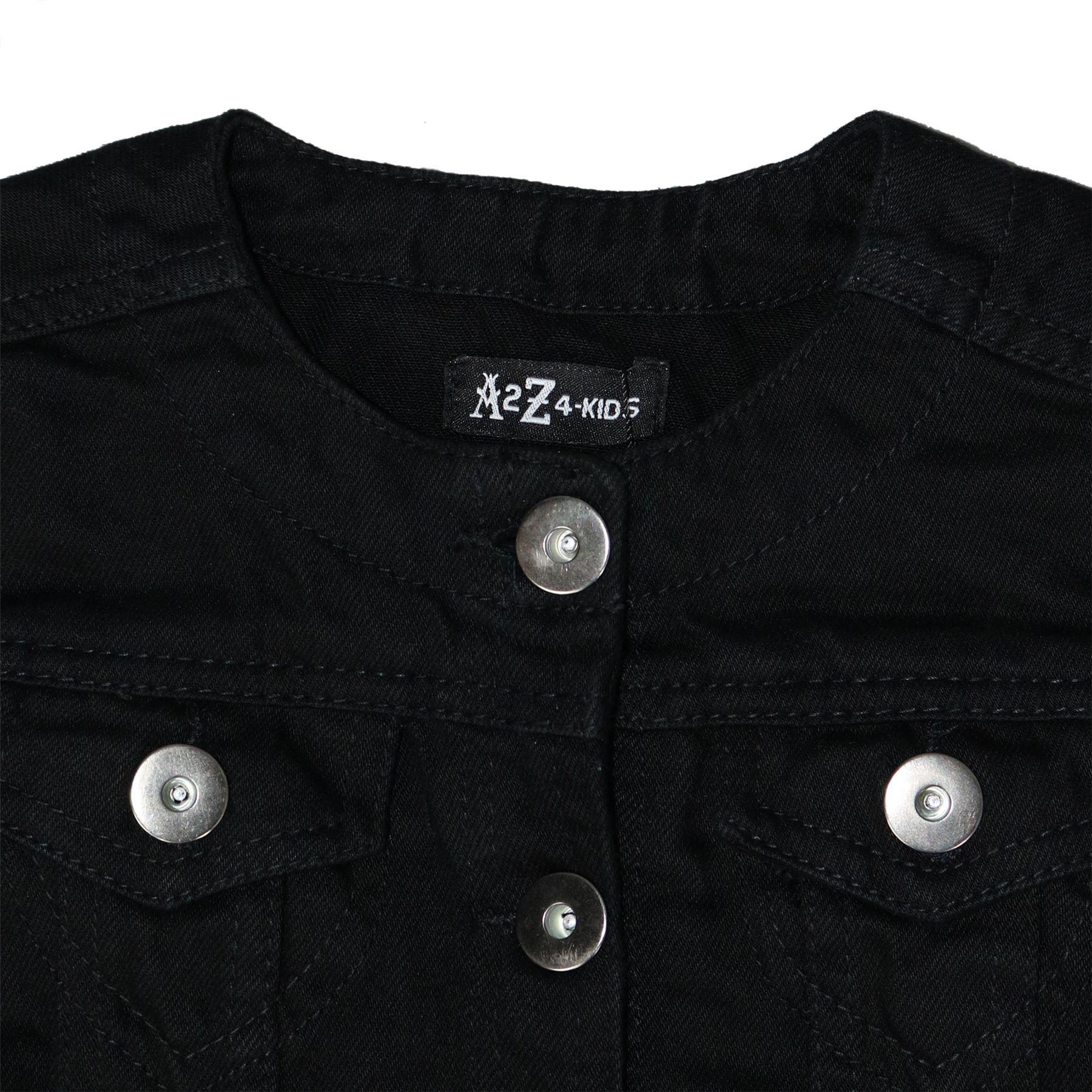 e4b3150ec211 Kids Girls Denim Jacket Stylish Fashion Trendy Jeans Jackets Coats ...
