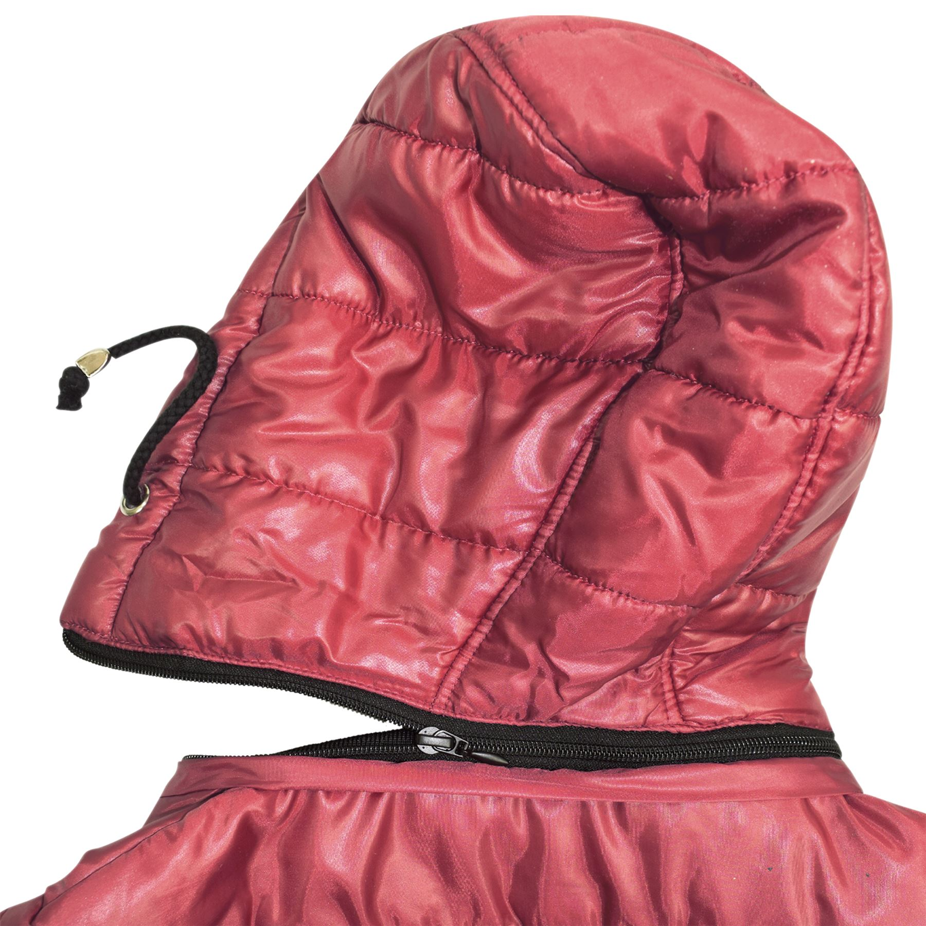 7de0e03253c4 Girls Jacket Kids Bella High Shine Hooded Padded Quilted Puffer ...