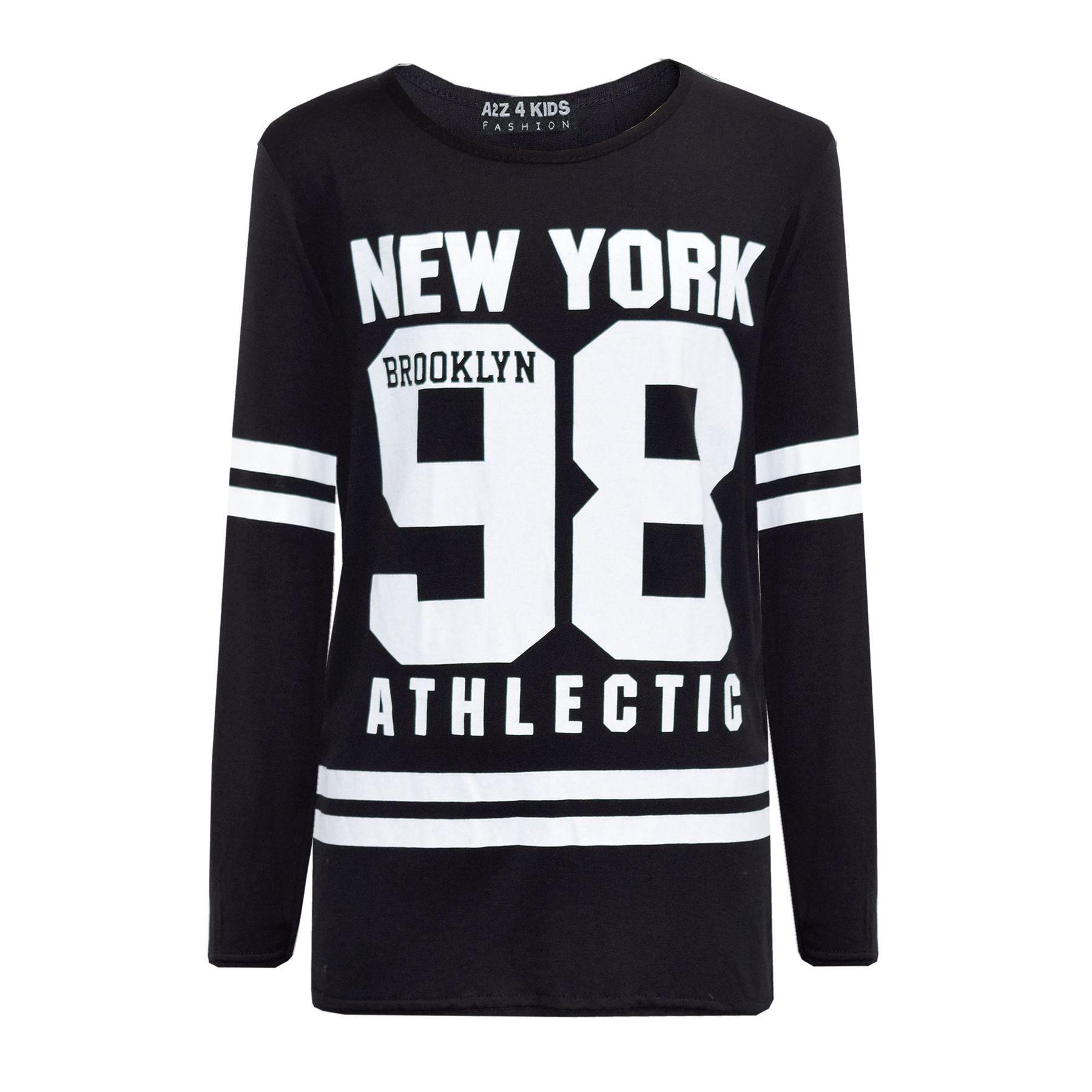 Girls-NEW-YORK-BROOKLYN-98-ATHLECTIC-Camouflage-Print-Top-amp-Legging-Set-7-13-Yr thumbnail 53