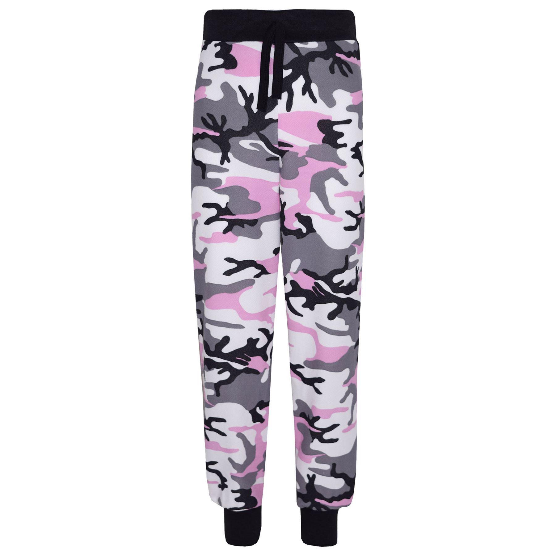Girls-NEW-YORK-BROOKLYN-98-ATHLECTIC-Camouflage-Print-Top-amp-Legging-Set-7-13-Yr thumbnail 9