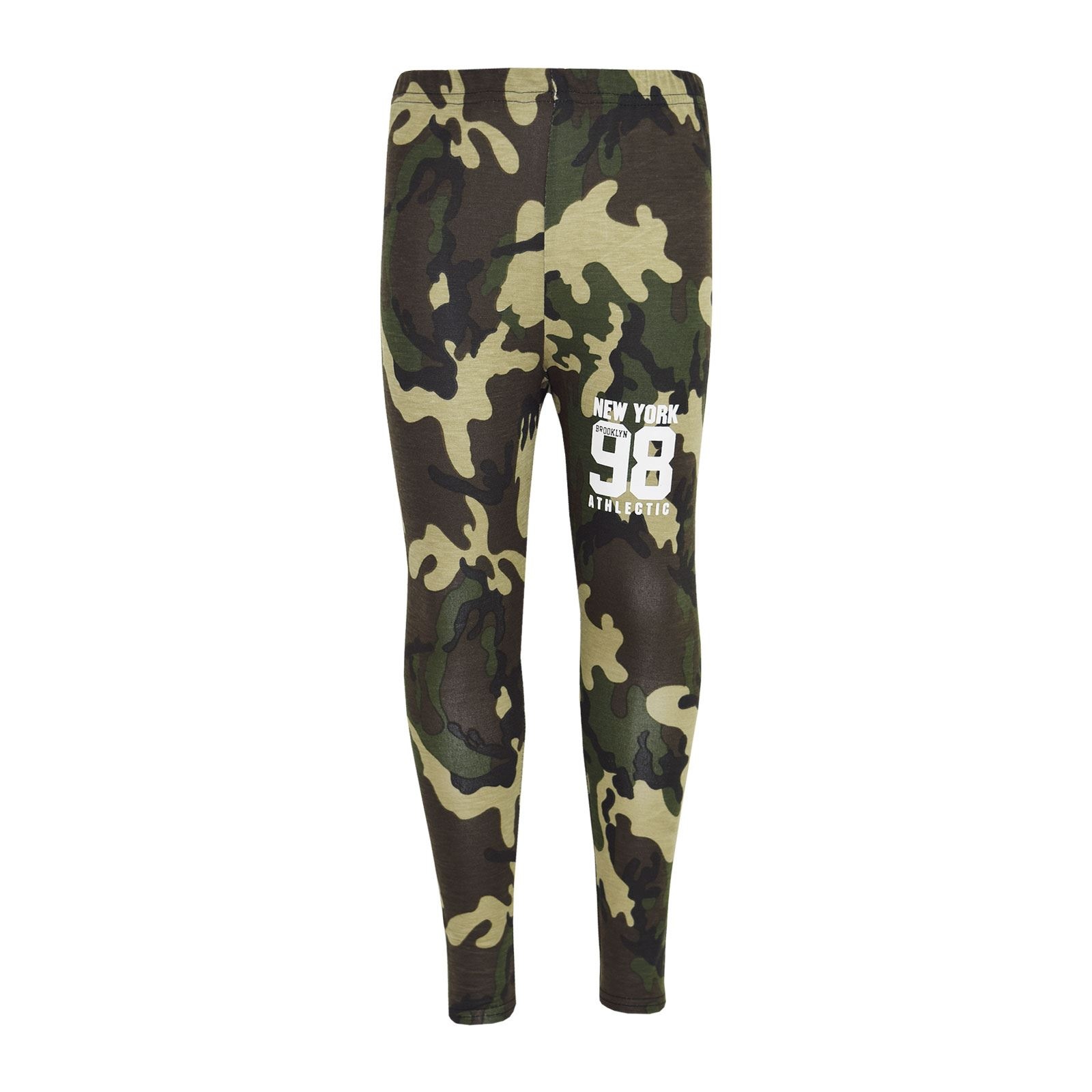 Girls-NEW-YORK-BROOKLYN-98-ATHLECTIC-Camouflage-Print-Top-amp-Legging-Set-7-13-Yr thumbnail 20