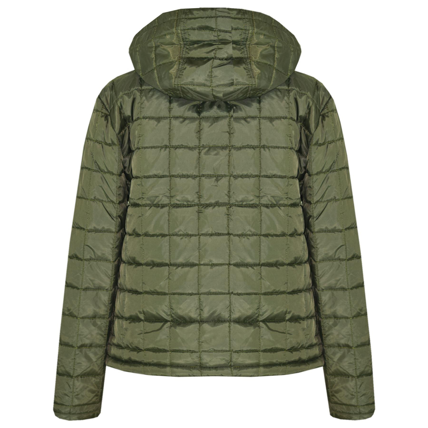c08fd8f63846 Boys Jackets Kids Designer s Foam Padded Puffa School Warm Thick ...