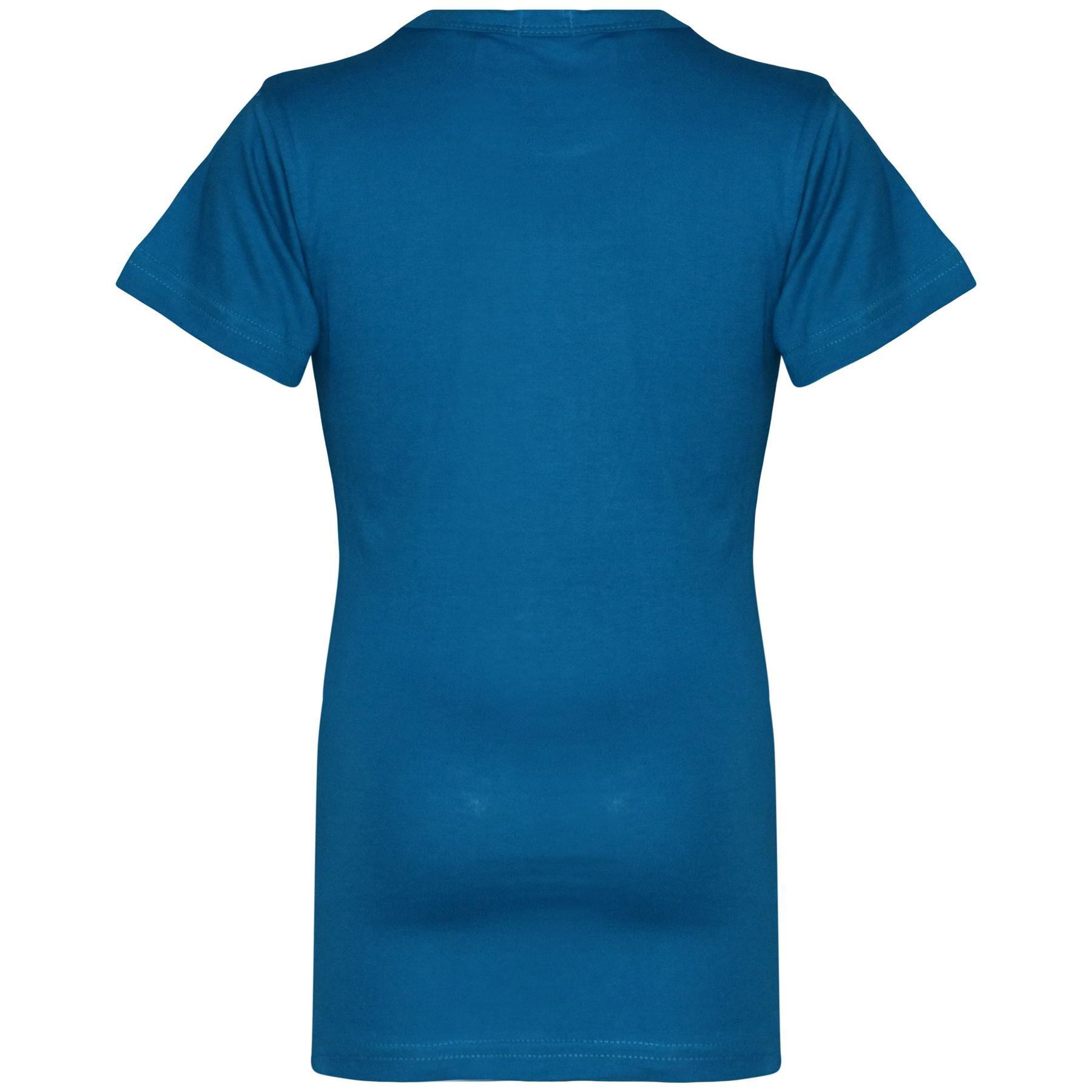 Kids-Girls-T-Shirts-Designer-100-Cotton-Plain-School-T-Shirt-Top-New-Age-3-13Yr thumbnail 12