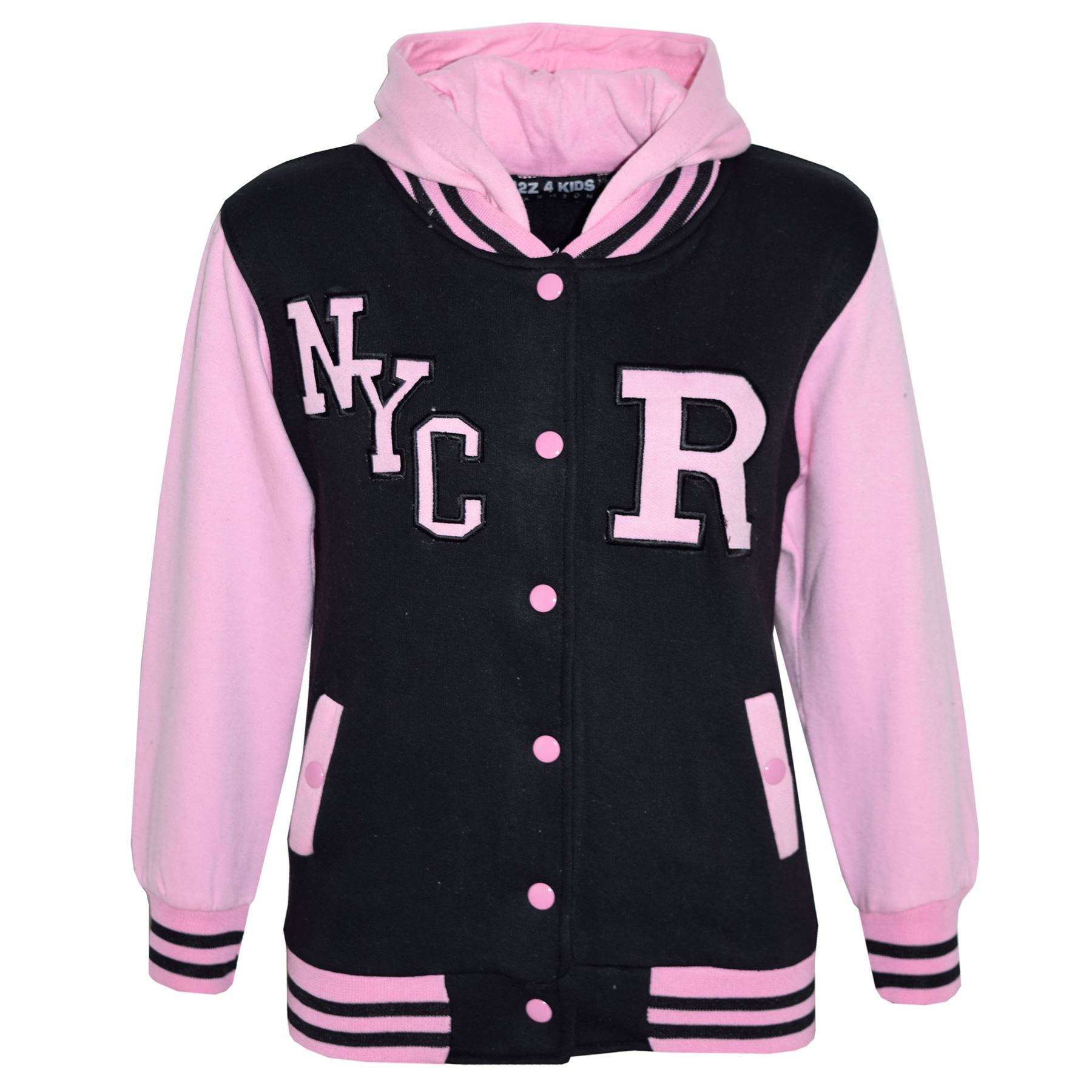 Enfants-filles-garcons-r-fashion-nyc-baseball-veste-a-capuche-varsity-sweat-a-capuche-5-13-ans
