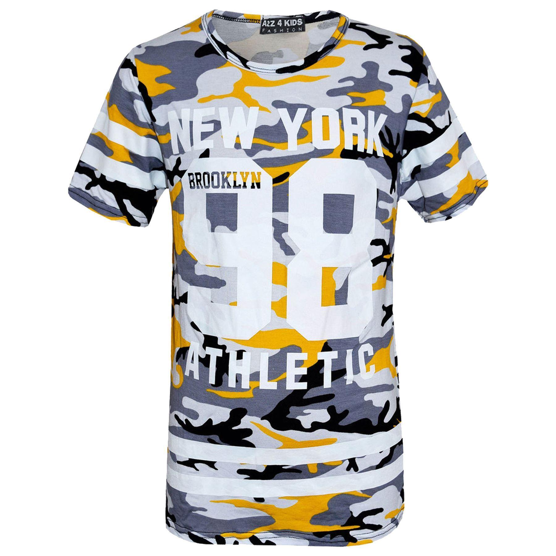 Girls-NEW-YORK-BROOKLYN-98-ATHLECTIC-Camouflage-Print-Top-amp-Legging-Set-7-13-Yr thumbnail 93