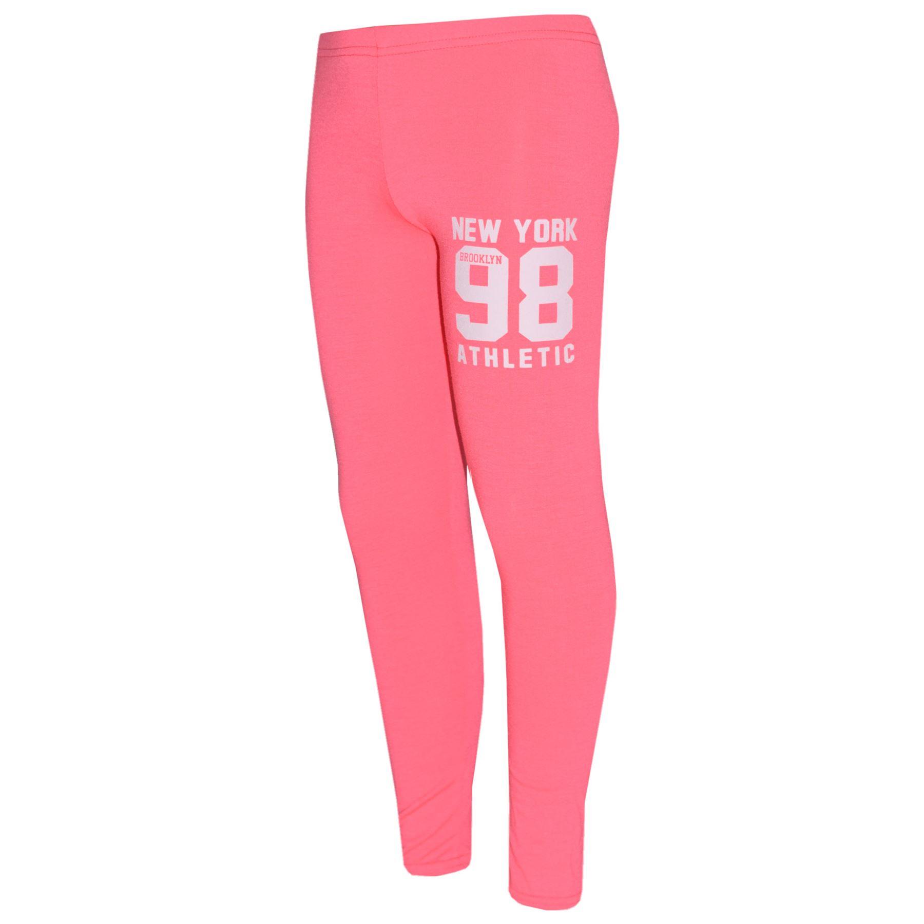Girls-NEW-YORK-BROOKLYN-98-ATHLECTIC-Camouflage-Print-Top-amp-Legging-Set-7-13-Yr thumbnail 70
