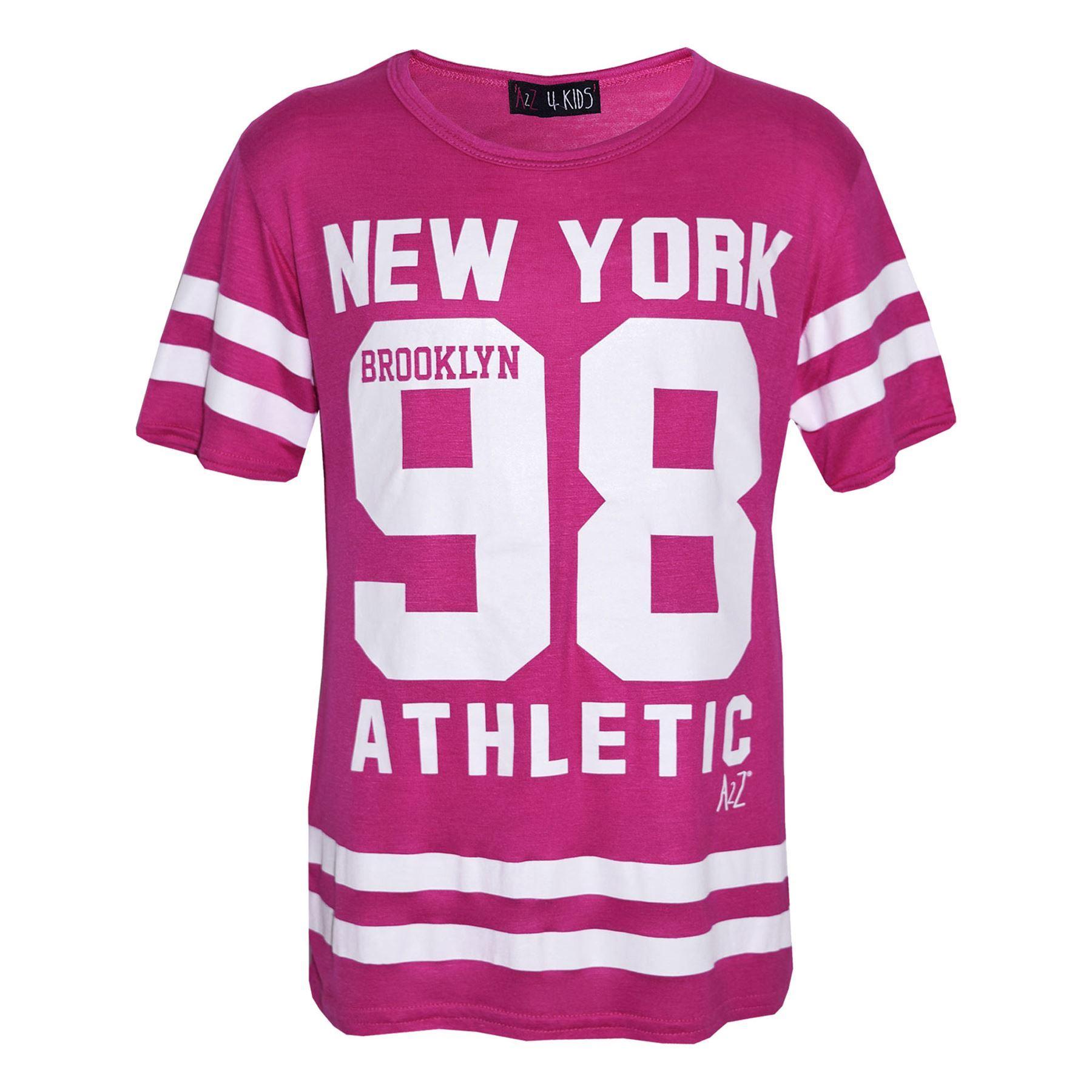 Girls-NEW-YORK-BROOKLYN-98-ATHLECTIC-Camouflage-Print-Top-amp-Legging-Set-7-13-Yr thumbnail 75