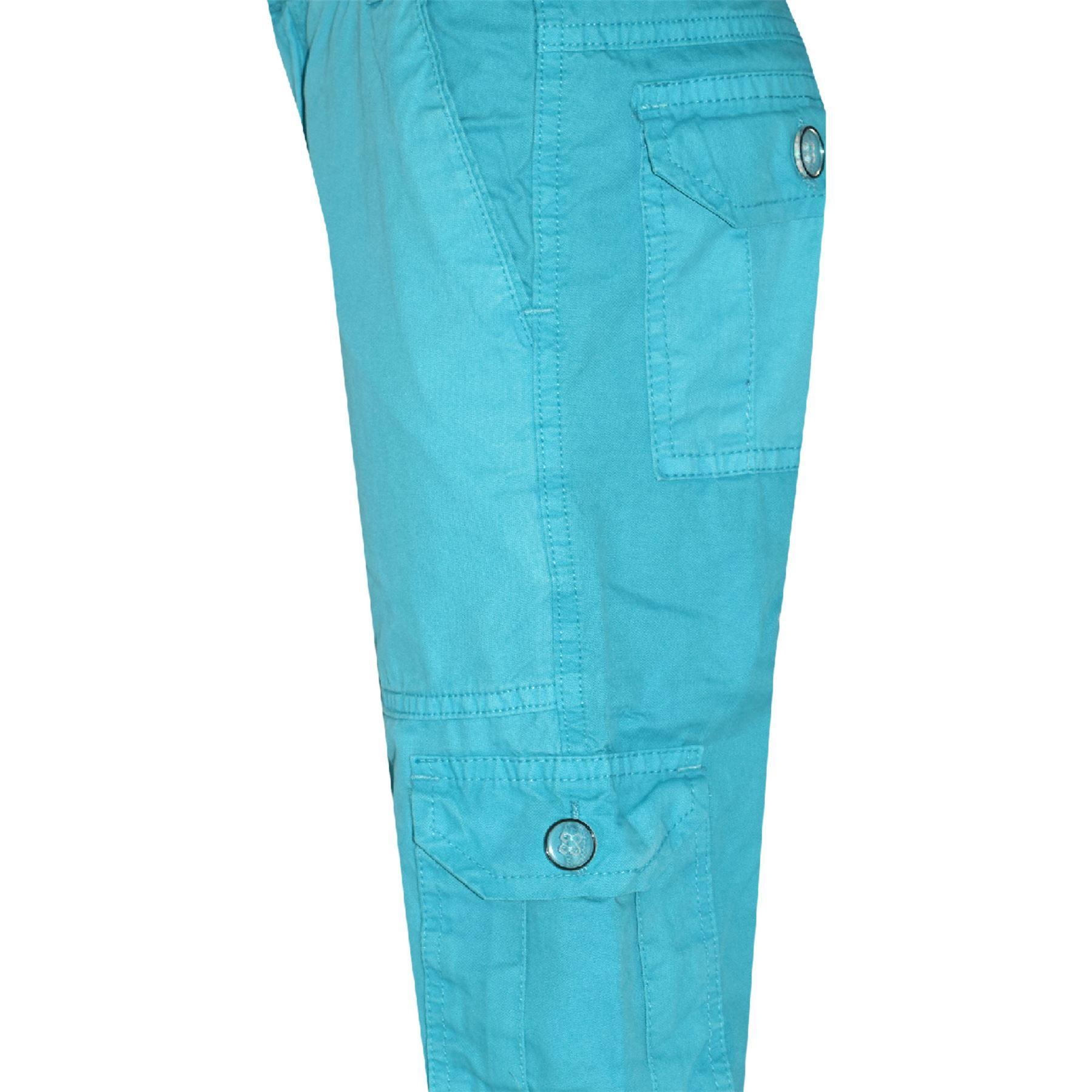 Kids Boys Youth BDU Ranger 6-Pocket Combat Cargo Trousers Fashion Pants 5-13 Yrs