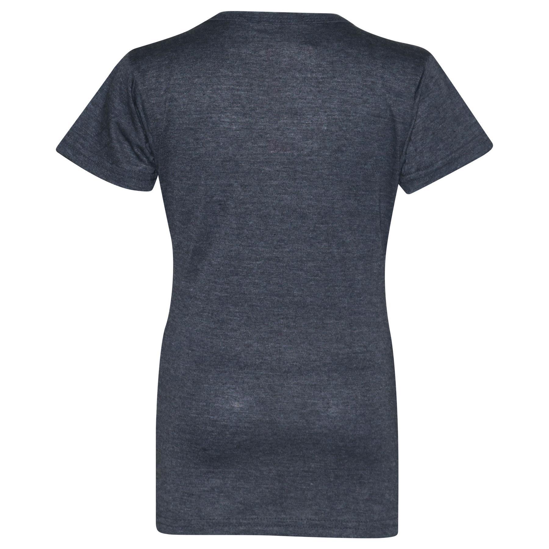 Kids-Girls-T-Shirts-Designer-100-Cotton-Plain-School-T-Shirt-Top-New-Age-3-13Yr thumbnail 14