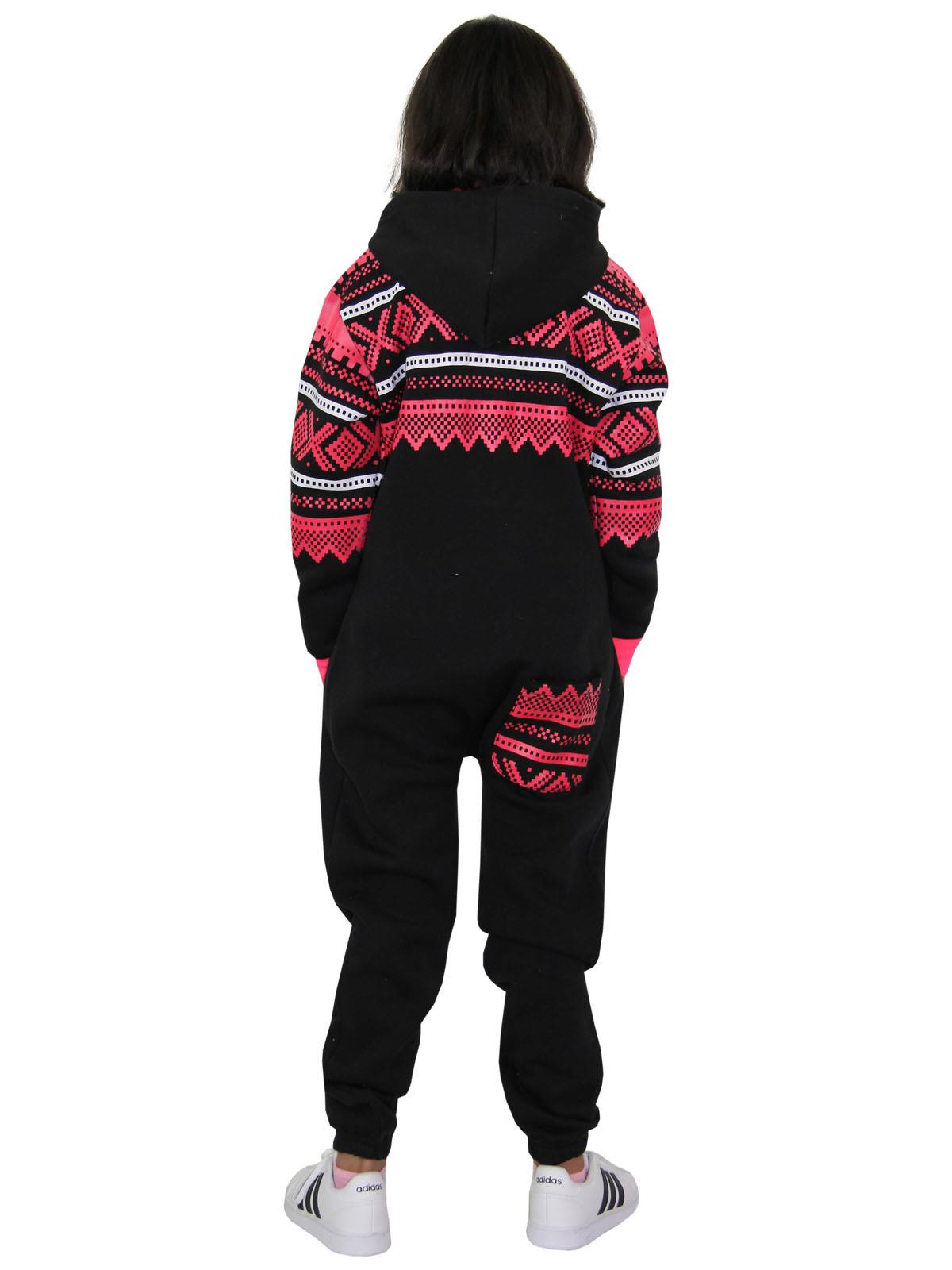A2Z 4 Kids/® Kids Boys Girls Fleece Onesie Designers Camouflage Charcoal Print All in One Jumpsuit Playsuit New Age 5 6 7 8 9 10 11 12 13 Years