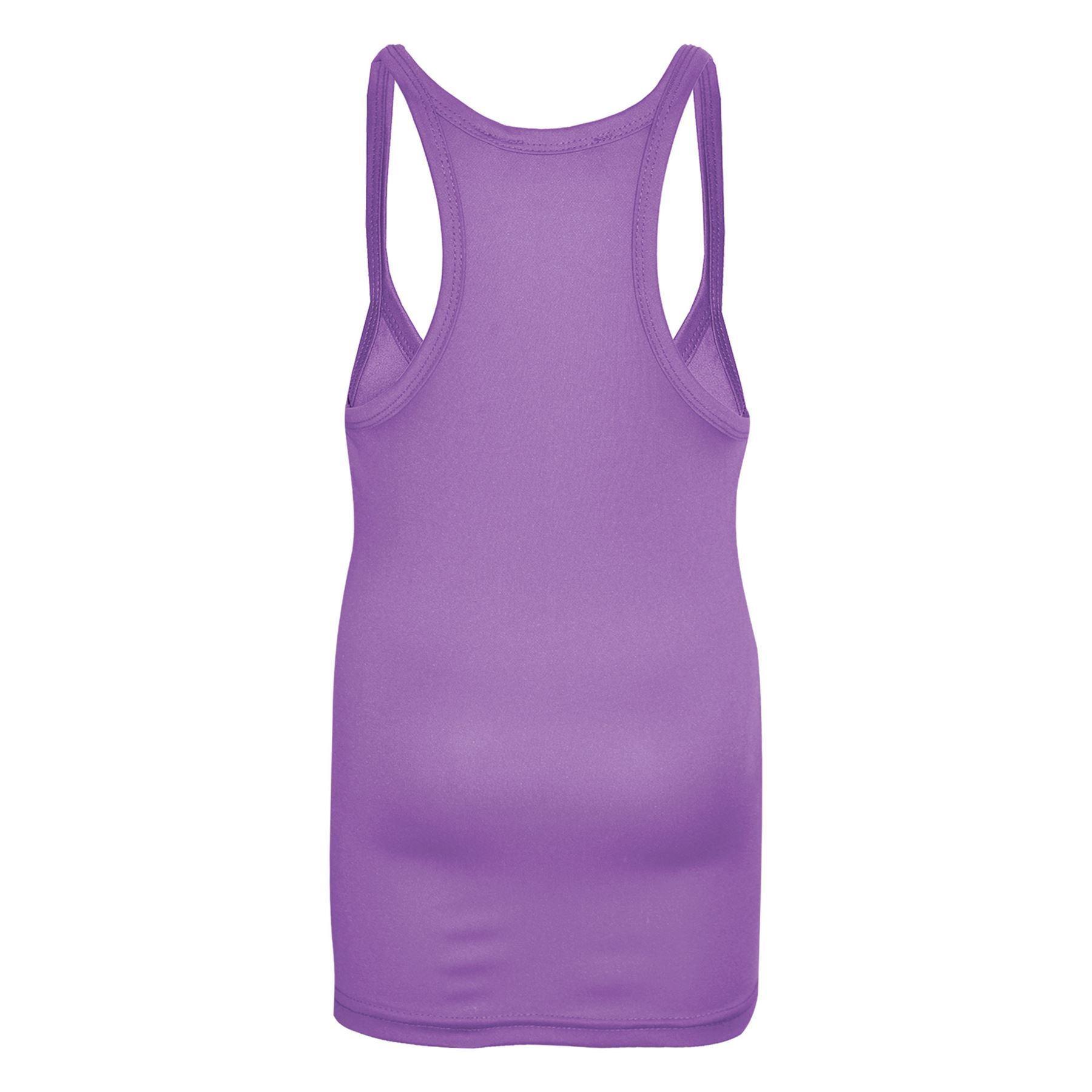 Girls-Vest-Kids-Stylish-Racer-Back-Fashion-Top-T-Shirt-Age-5-6-7-8-9-10-11-12-Y