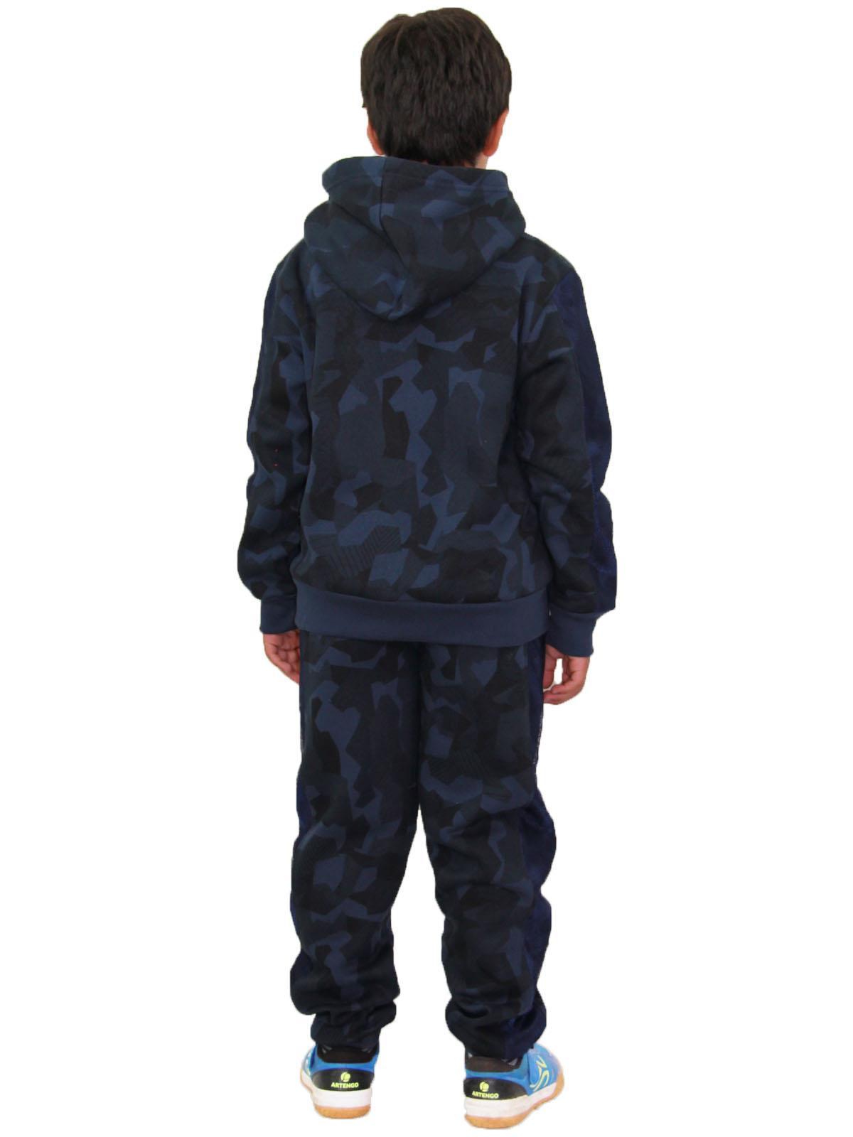 Enfants Garçons Survêtement Navy Designer/'s #Selfie Camouflage Jogging Costume 5-13 Ans