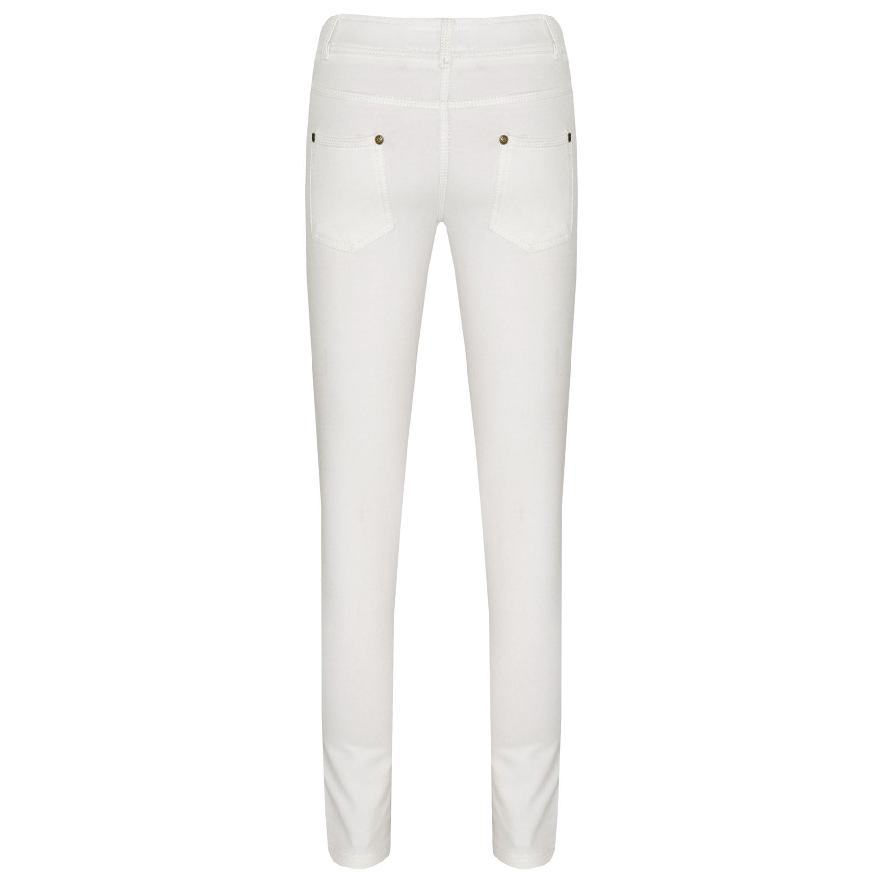 A2Z 4 Kids Girls Skinny Jeans Kids Purple Stretchy Jeggings Denim Fit Pants Fashion Coloured Trousers Age 5 6 7 8 9 10 11 12 13 Years