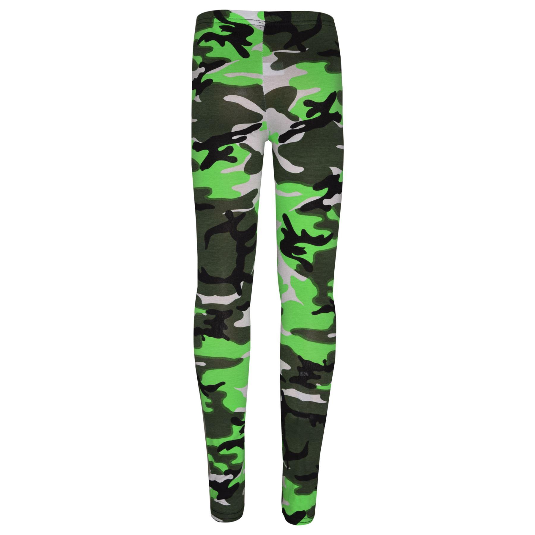 Girls-NEW-YORK-BROOKLYN-98-ATHLECTIC-Camouflage-Print-Top-amp-Legging-Set-7-13-Yr thumbnail 33