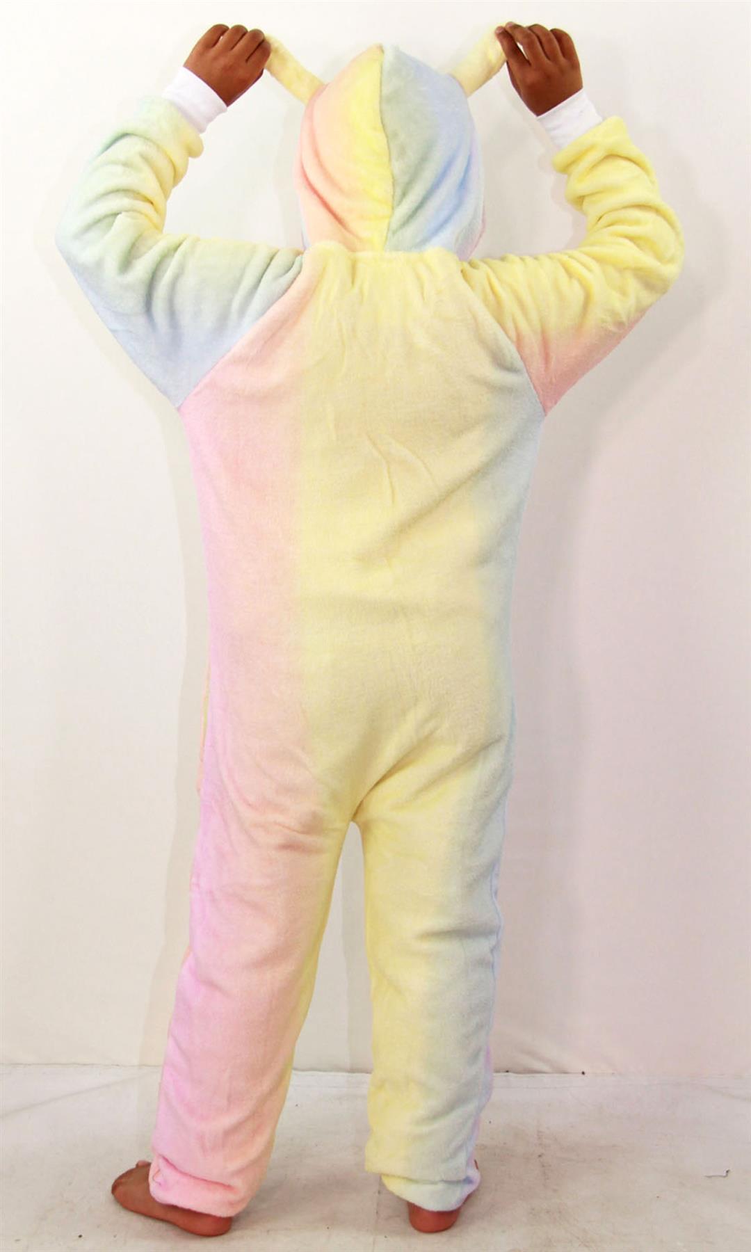 Kids-Girls-Boys-Soft-Fluffy-Animal-Monkey-A2Z-Onesie-One-Piece-Halloween-Costume miniatuur 79