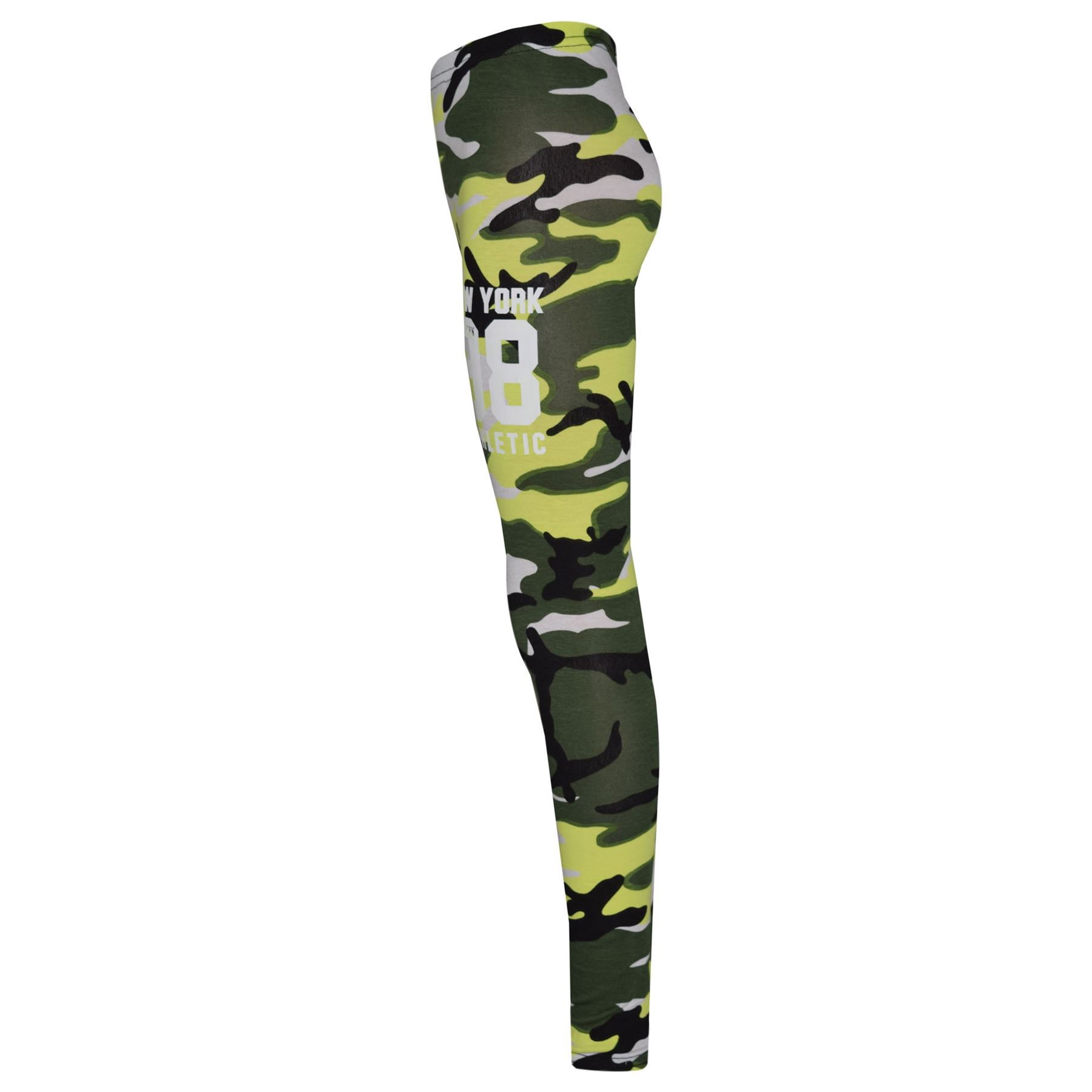 Girls-NEW-YORK-BROOKLYN-98-ATHLECTIC-Camouflage-Print-Top-amp-Legging-Set-7-13-Yr thumbnail 39