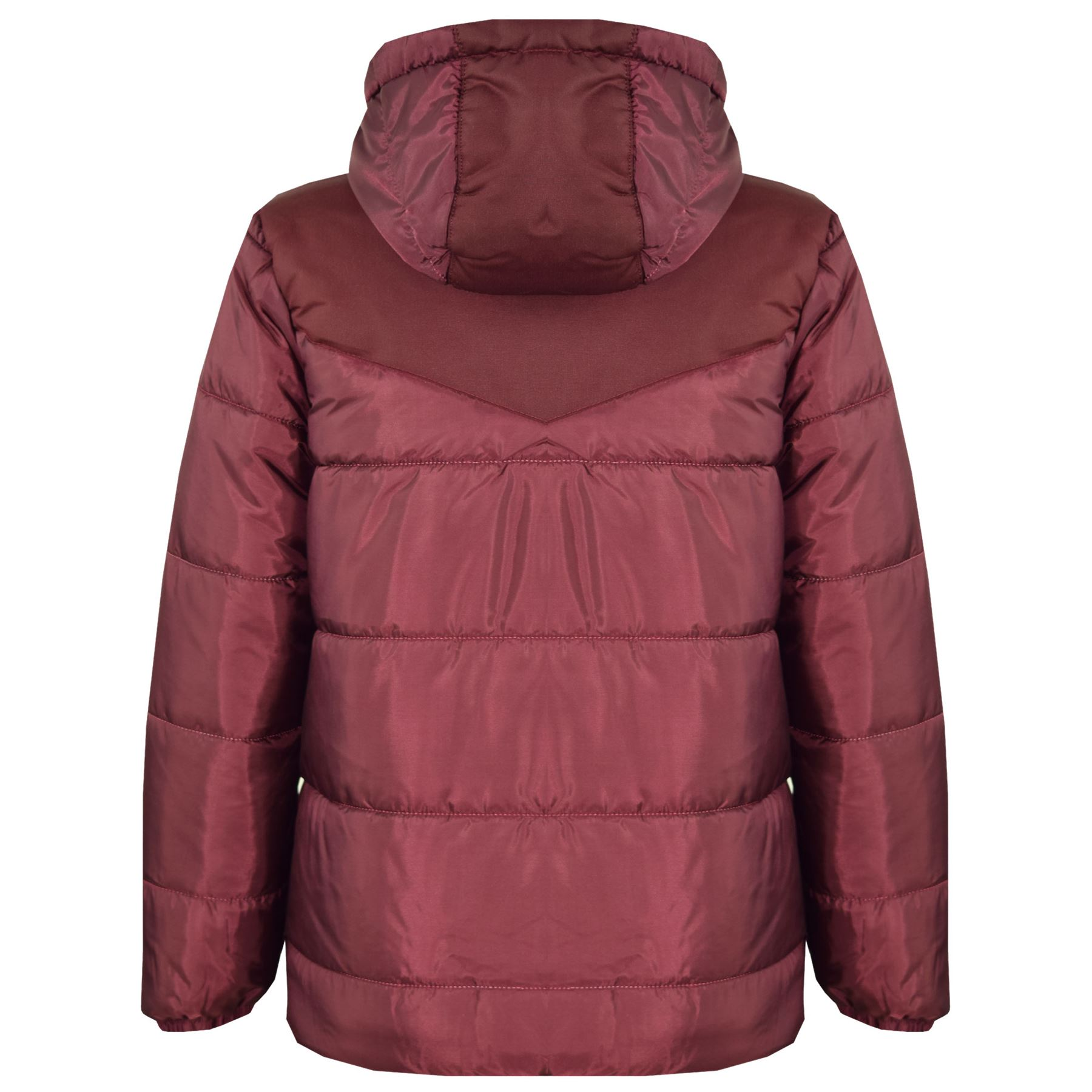 2144b14dce71 Kids Jackets Boys Girls Padded Puffer Bubble Zipped Hooded Warm ...