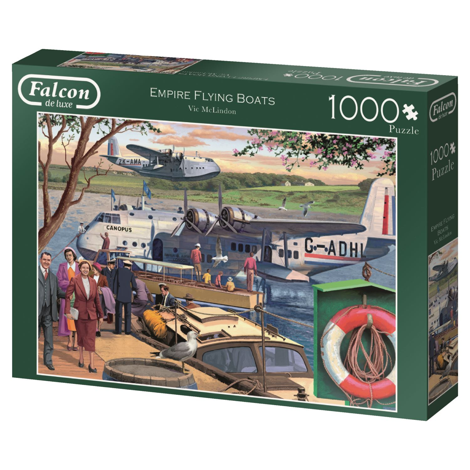 Jumbo-Games-Premium-Child-Adult-Jigsaw-Puzzles-Various-Designs-And-Pieces thumbnail 33