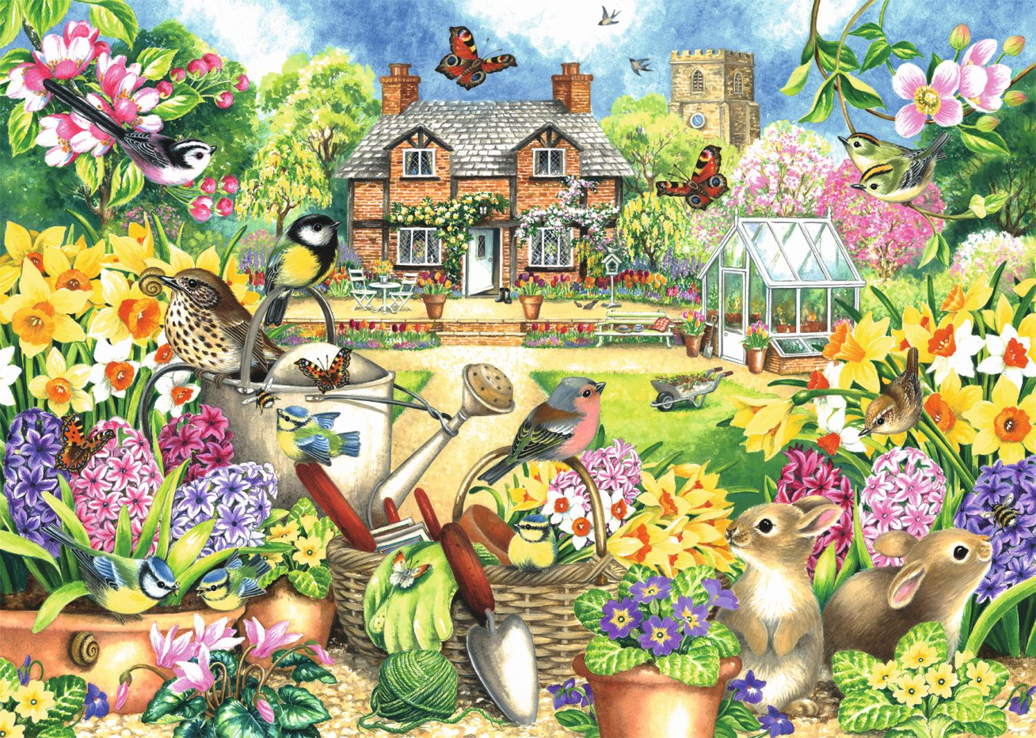 Jumbo-Games-Premium-Child-Adult-Jigsaw-Puzzles-Various-Designs-And-Pieces thumbnail 42