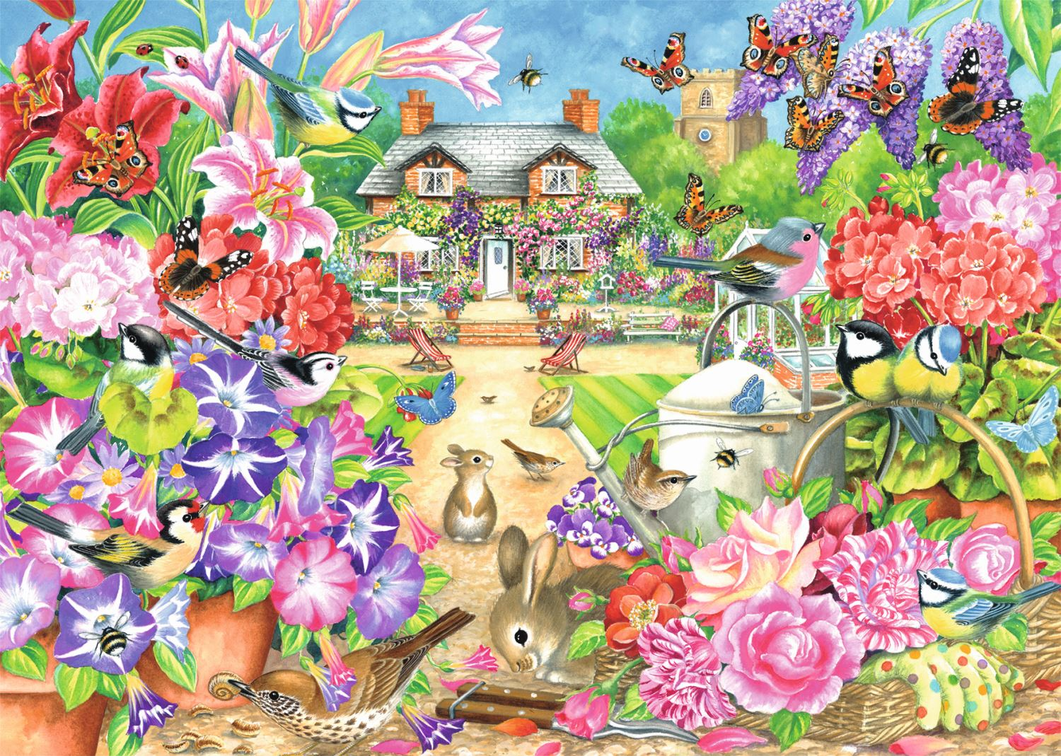 Jumbo-Games-Premium-Child-Adult-Jigsaw-Puzzles-Various-Designs-And-Pieces thumbnail 43