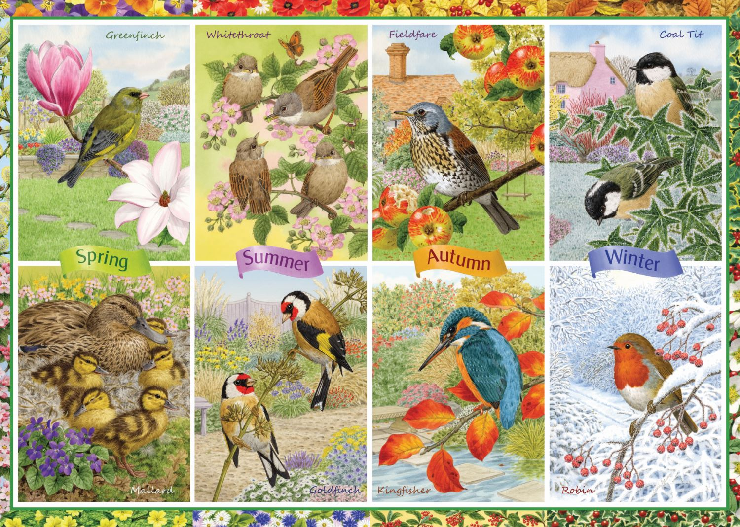 Jumbo-Games-Premium-Child-Adult-Jigsaw-Puzzles-Various-Designs-And-Pieces thumbnail 38