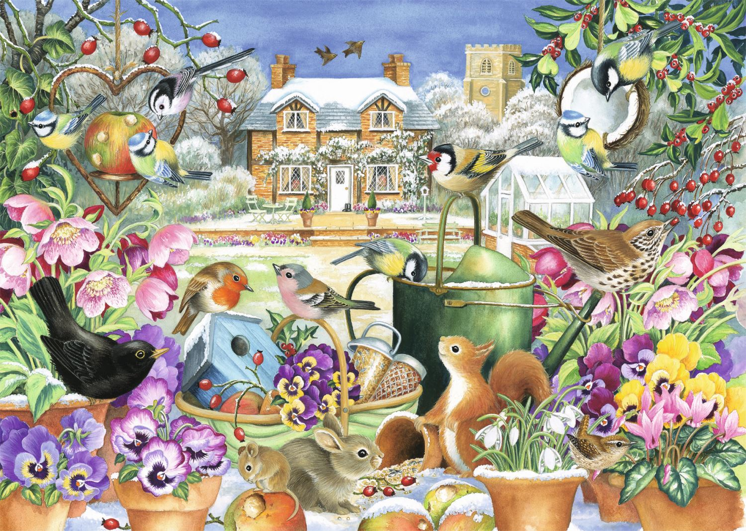 Jumbo-Games-Premium-Child-Adult-Jigsaw-Puzzles-Various-Designs-And-Pieces thumbnail 45