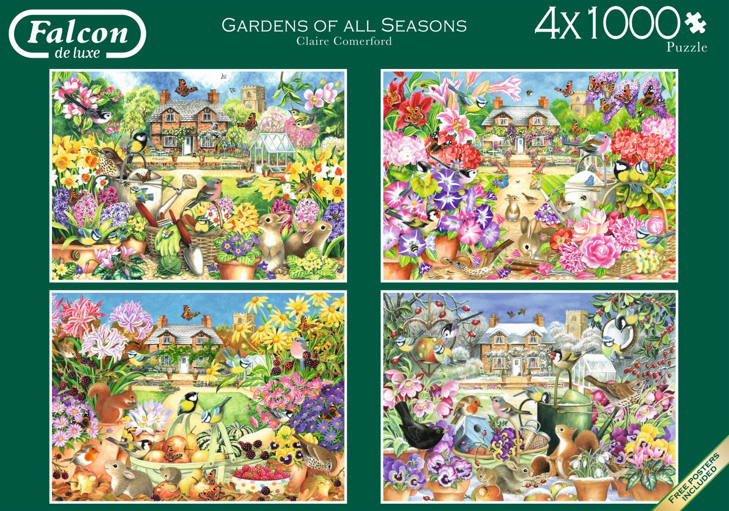 Jumbo-Games-Premium-Child-Adult-Jigsaw-Puzzles-Various-Designs-And-Pieces thumbnail 46