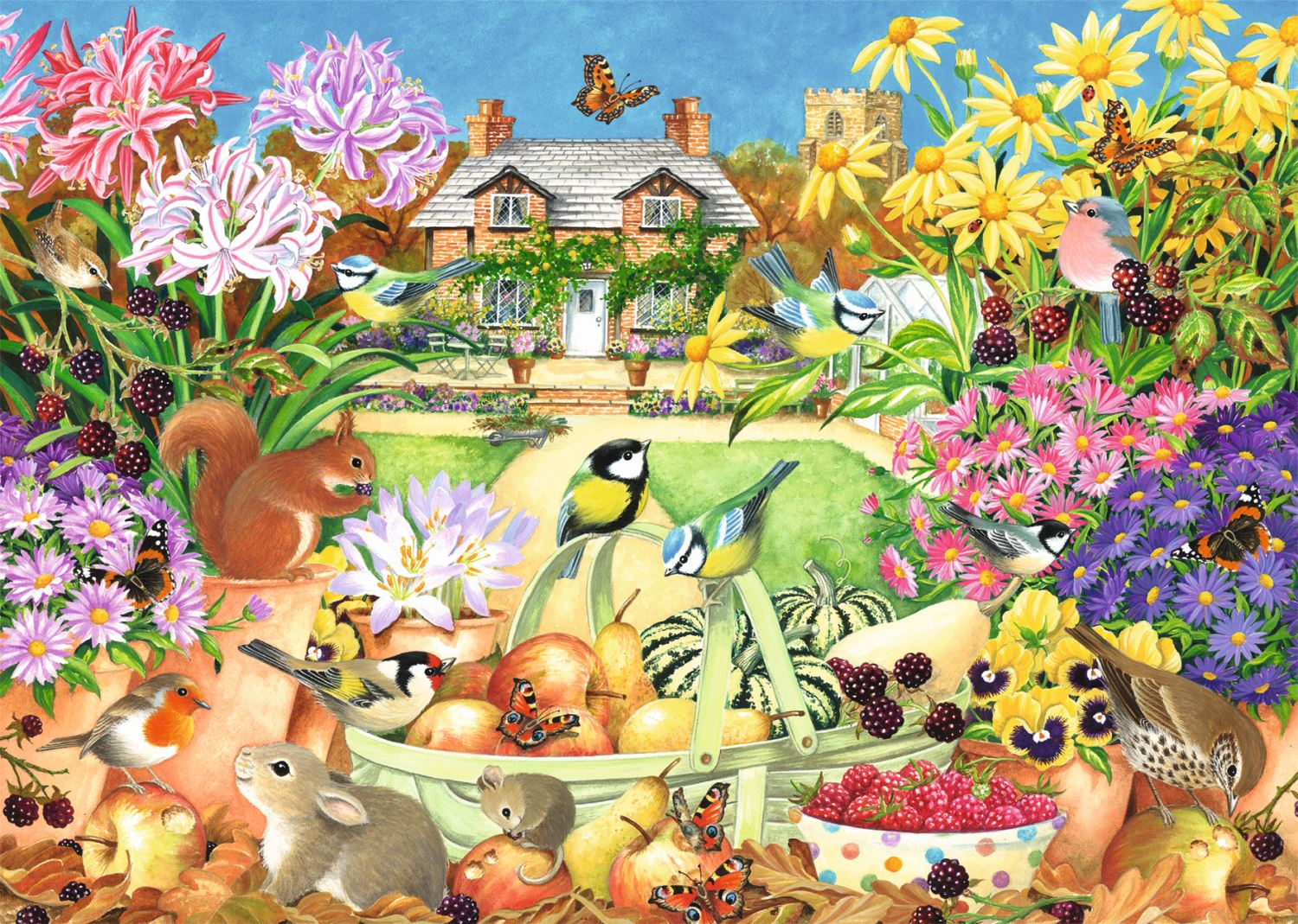 Jumbo-Games-Premium-Child-Adult-Jigsaw-Puzzles-Various-Designs-And-Pieces thumbnail 44