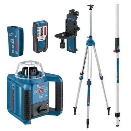 Bosch Grl 300 Hv Pro Site Rotary Laser Level Kit Grl300 Ebay