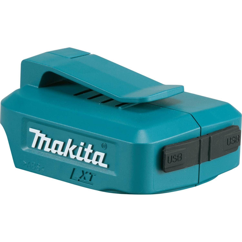 Makita DEBADP 05 Double Port USB Chargeur de Batterie Adaptateur Pour 14.4 V /& 18 V Piles