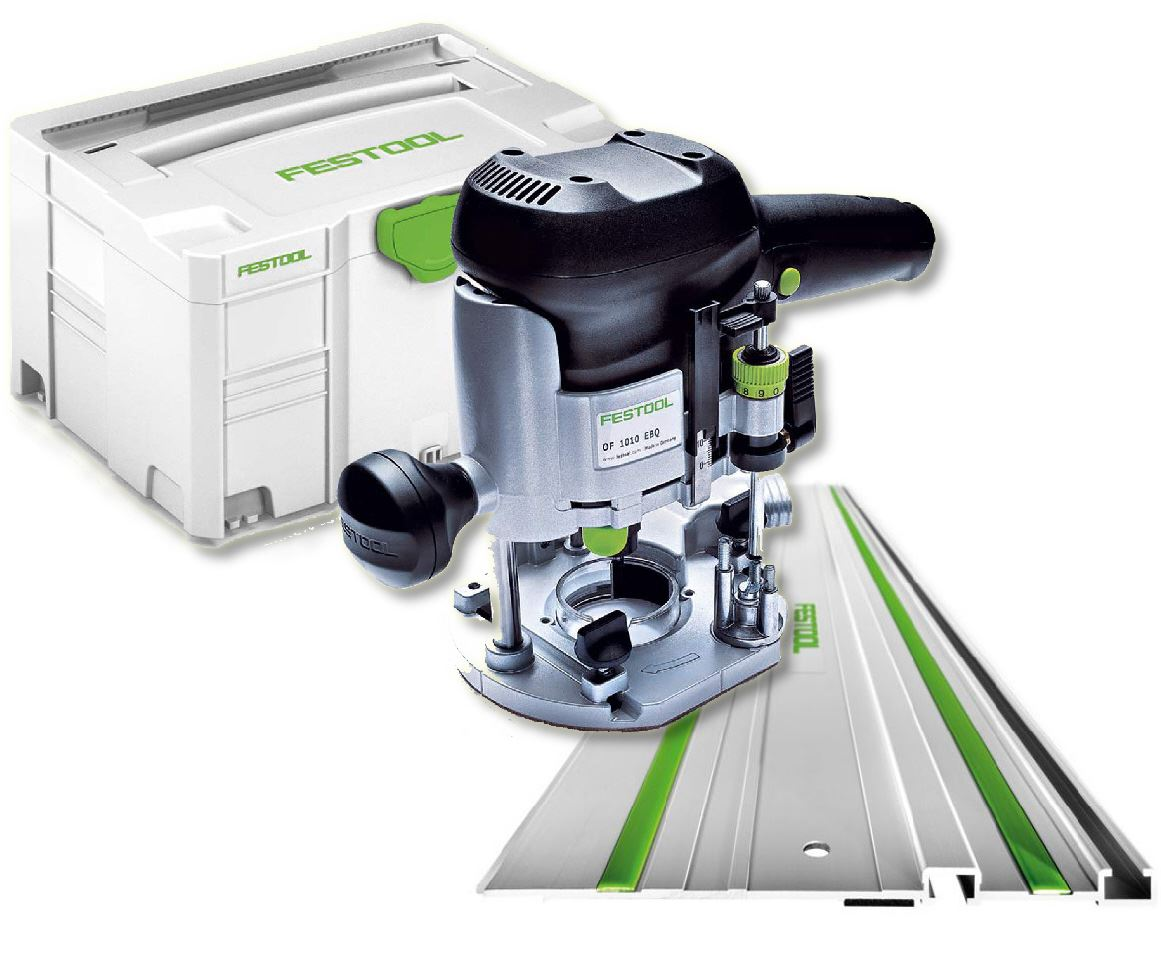 Festool Router OF 1010 EQ-Set GB 240V 574374 FREE NEXT DAY DELIVERY