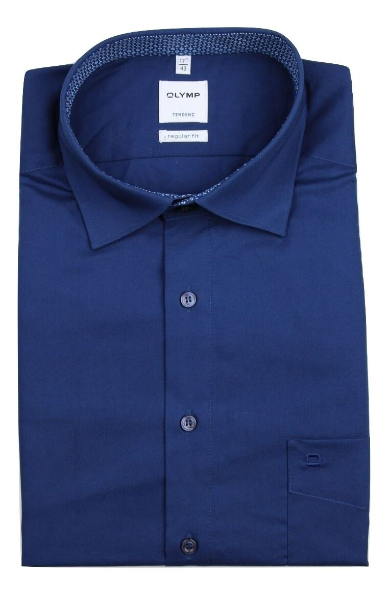 Easy Iron 25 Mg: Mens Shirt Olymp Tendenz Regular Fit 100% Cotton Easy Iron