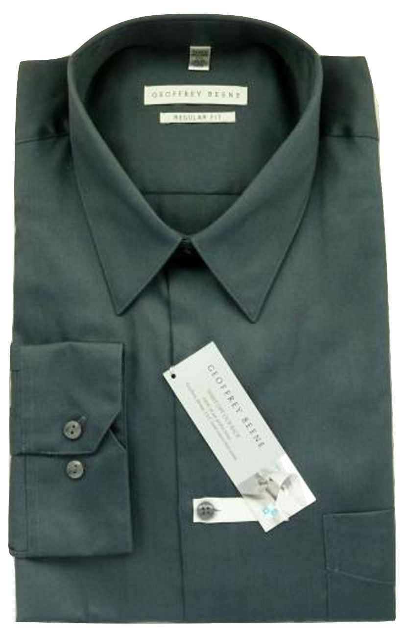 Easy Iron 25 Mg: Mens Shirt Geoffrey Beene Regular Fit Cotton Rich Easy